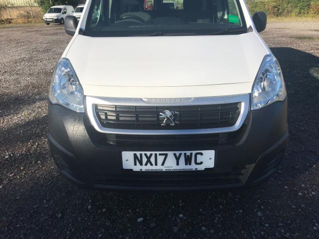 2017 Peugeot Partner 715 S 1.6 Bluehdi 100 Crew Van Euro 6 *Restricted to 69MPH* (NX17YWC) Image 17