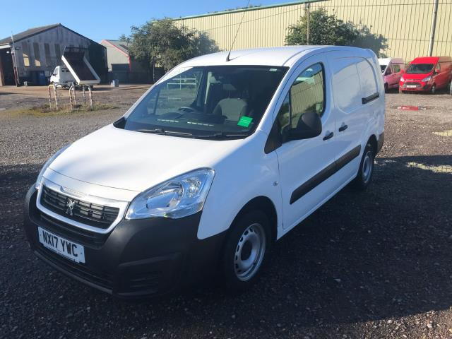 2017 Peugeot Partner 715 S 1.6 Bluehdi 100 Crew Van Euro 6 *Restricted to 69MPH* (NX17YWC) Image 4