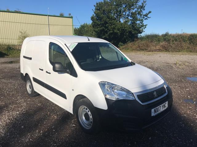 2017 Peugeot Partner 715 S 1.6 Bluehdi 100 Crew Van Euro 6 *Restricted to 69MPH* (NX17YWC)