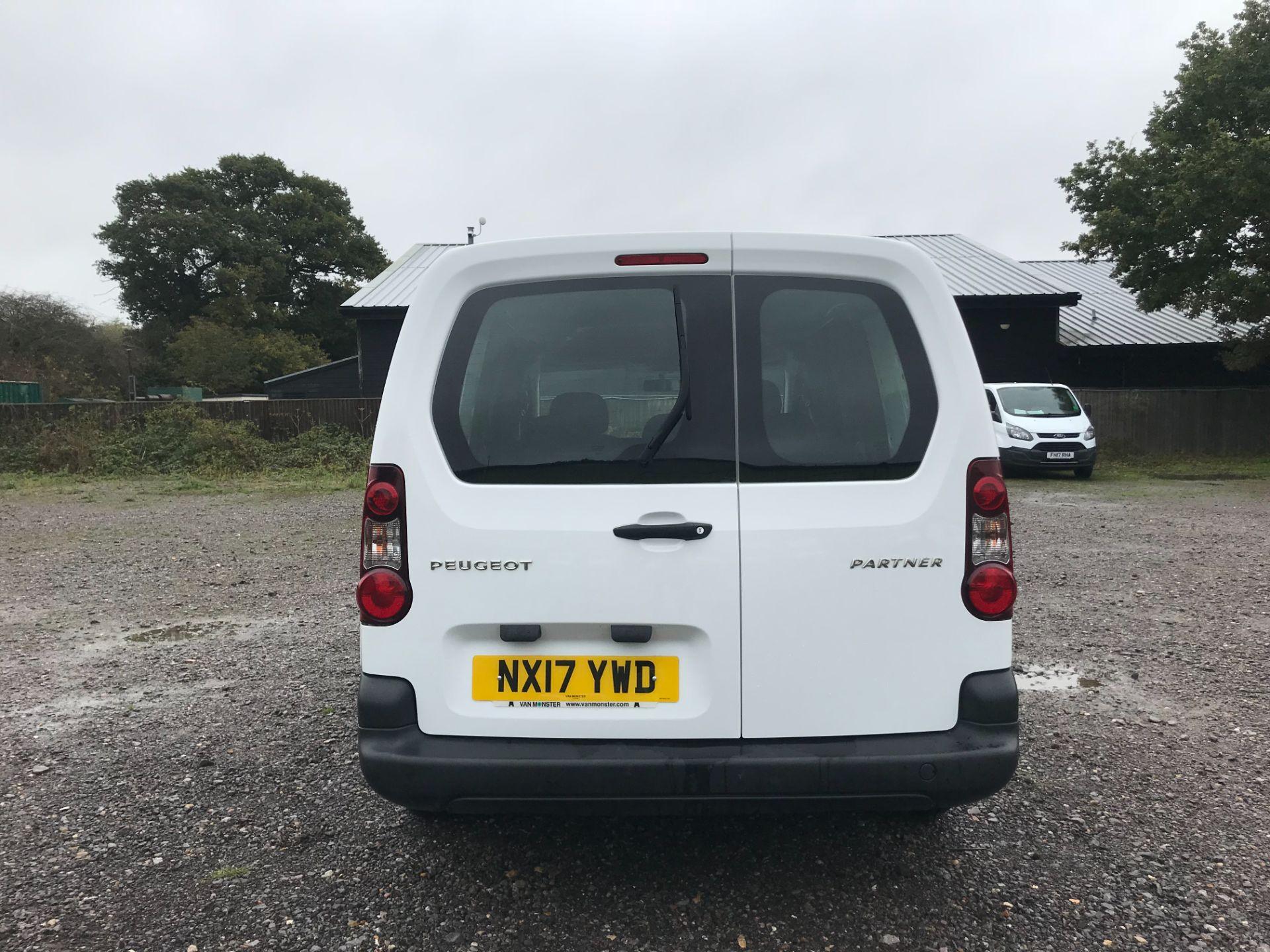 2017 Peugeot Partner 715 S 1.6 Bluehdi 100 Crew Van (NX17YWD) Image 5