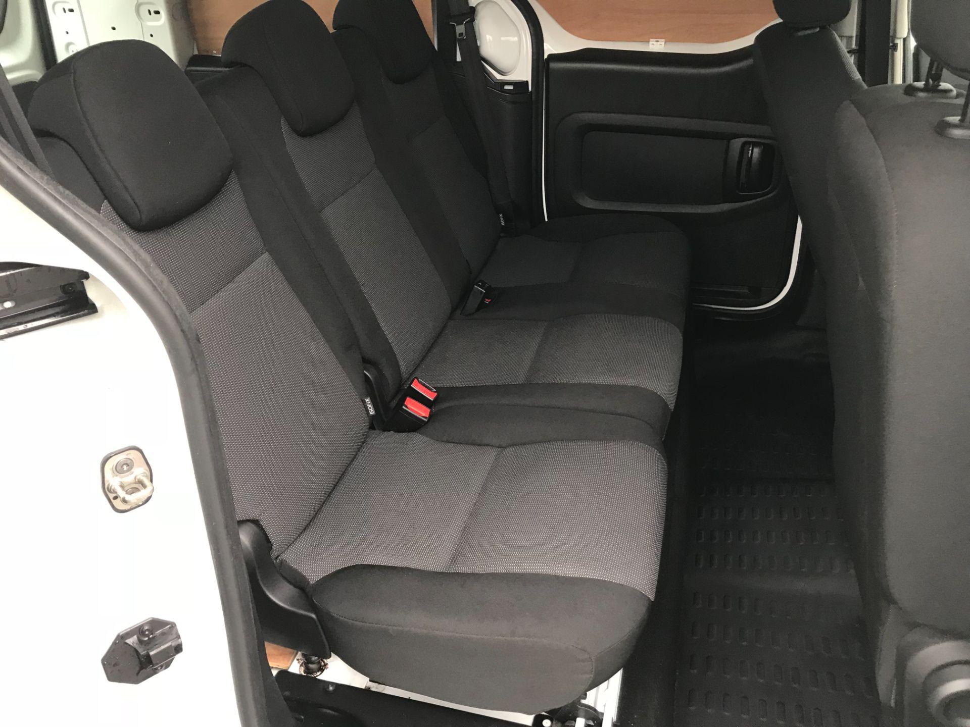 2017 Peugeot Partner 715 S 1.6 Bluehdi 100 Crew Van (NX17YWD) Image 14