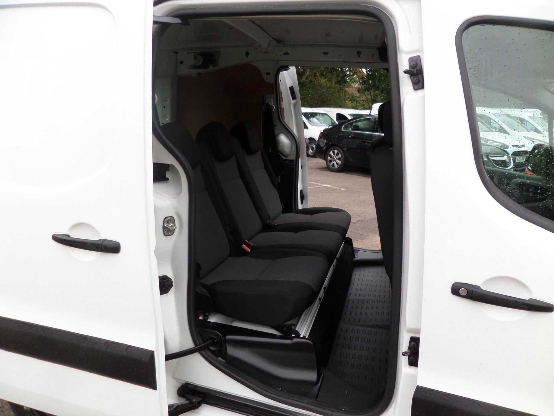 2017 Peugeot Partner 715 S 1.6 Bluehdi 100 Crew Van (NX17YWF) Image 11