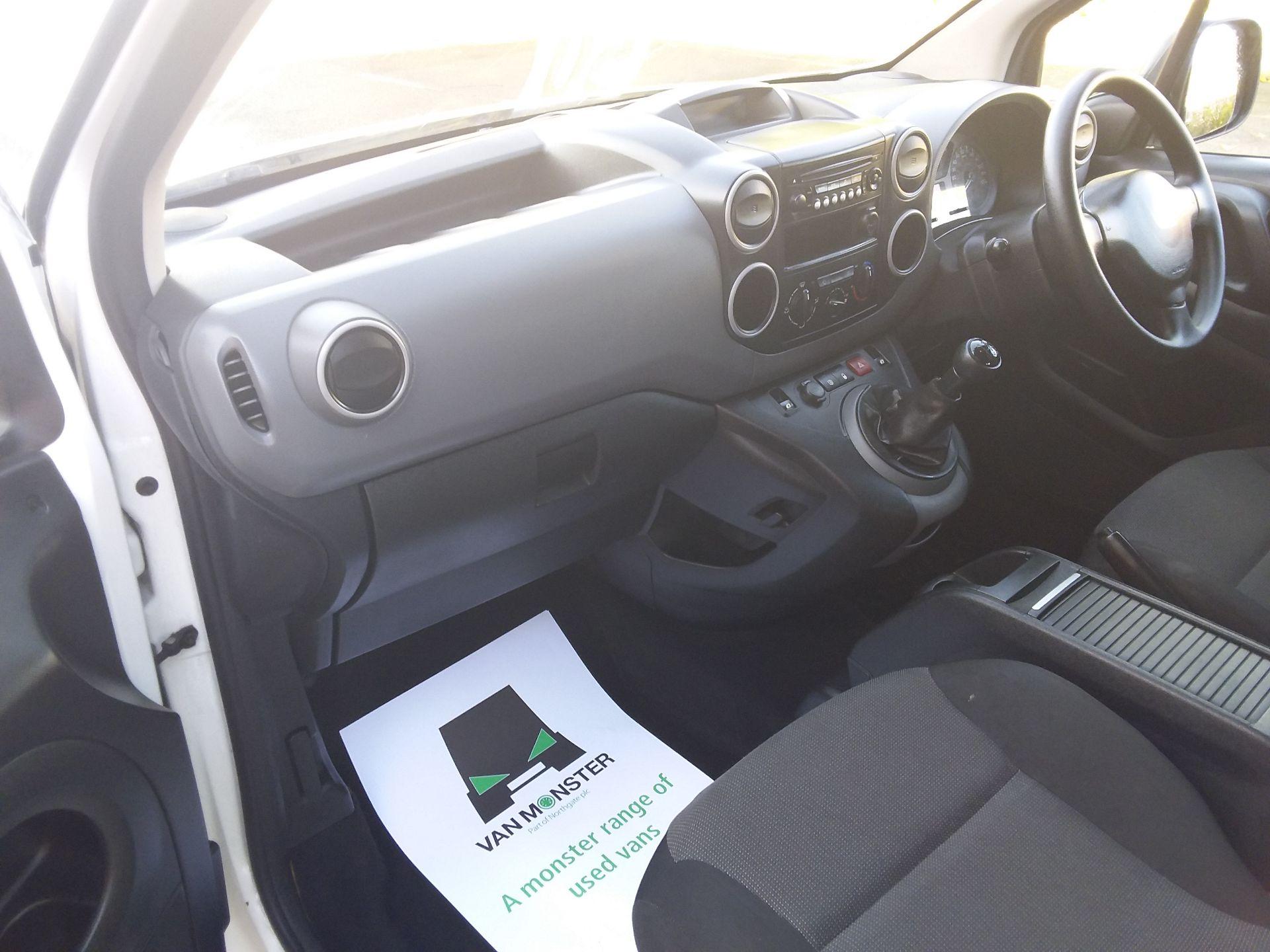 2017 Peugeot Partner 715 S 1.6 Bluehdi 100 Crew Van Euro 6 (NX17ZKJ) Image 23
