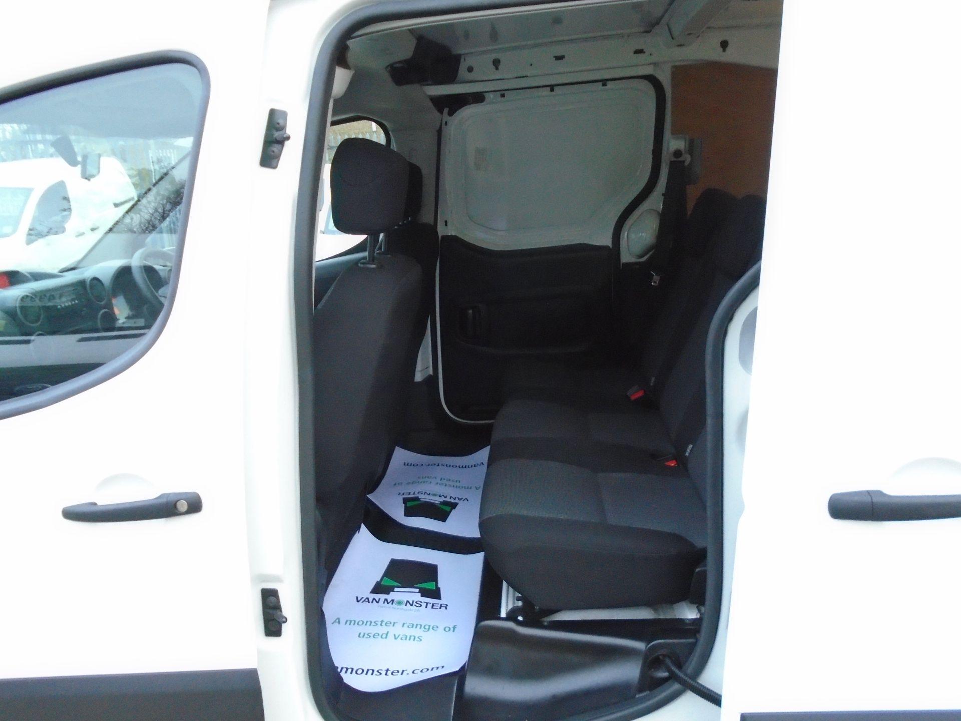 2017 Peugeot Partner 715 S 1.6 Bluehdi 100 Crew Van (NX17ZKL) Image 14