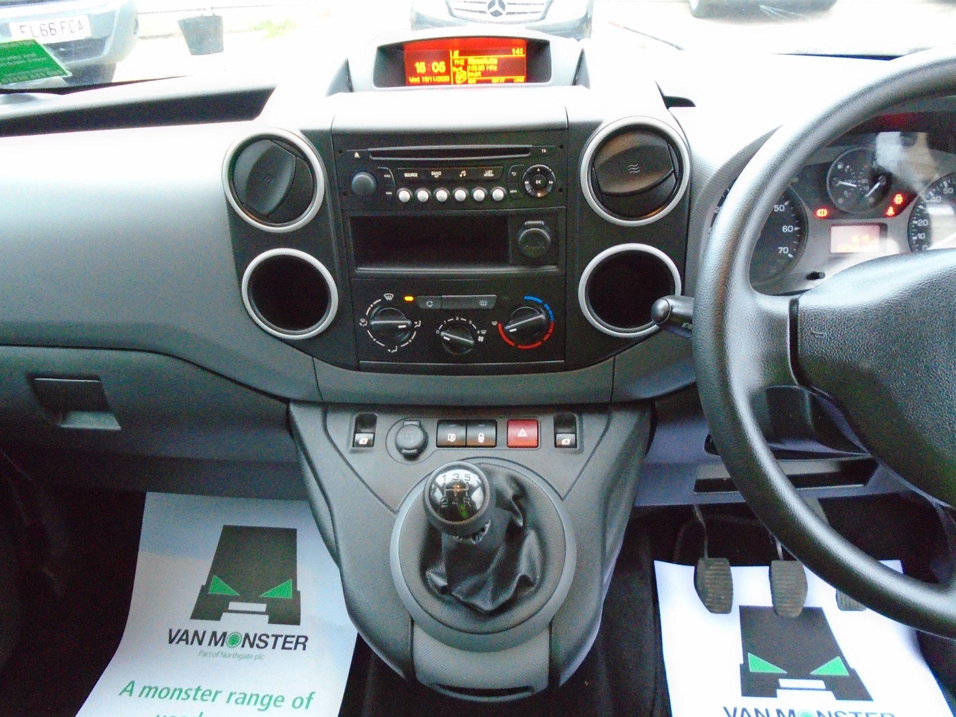 2017 Peugeot Partner 715 S 1.6 Bluehdi 100 Crew Van (NX17ZKL) Image 21