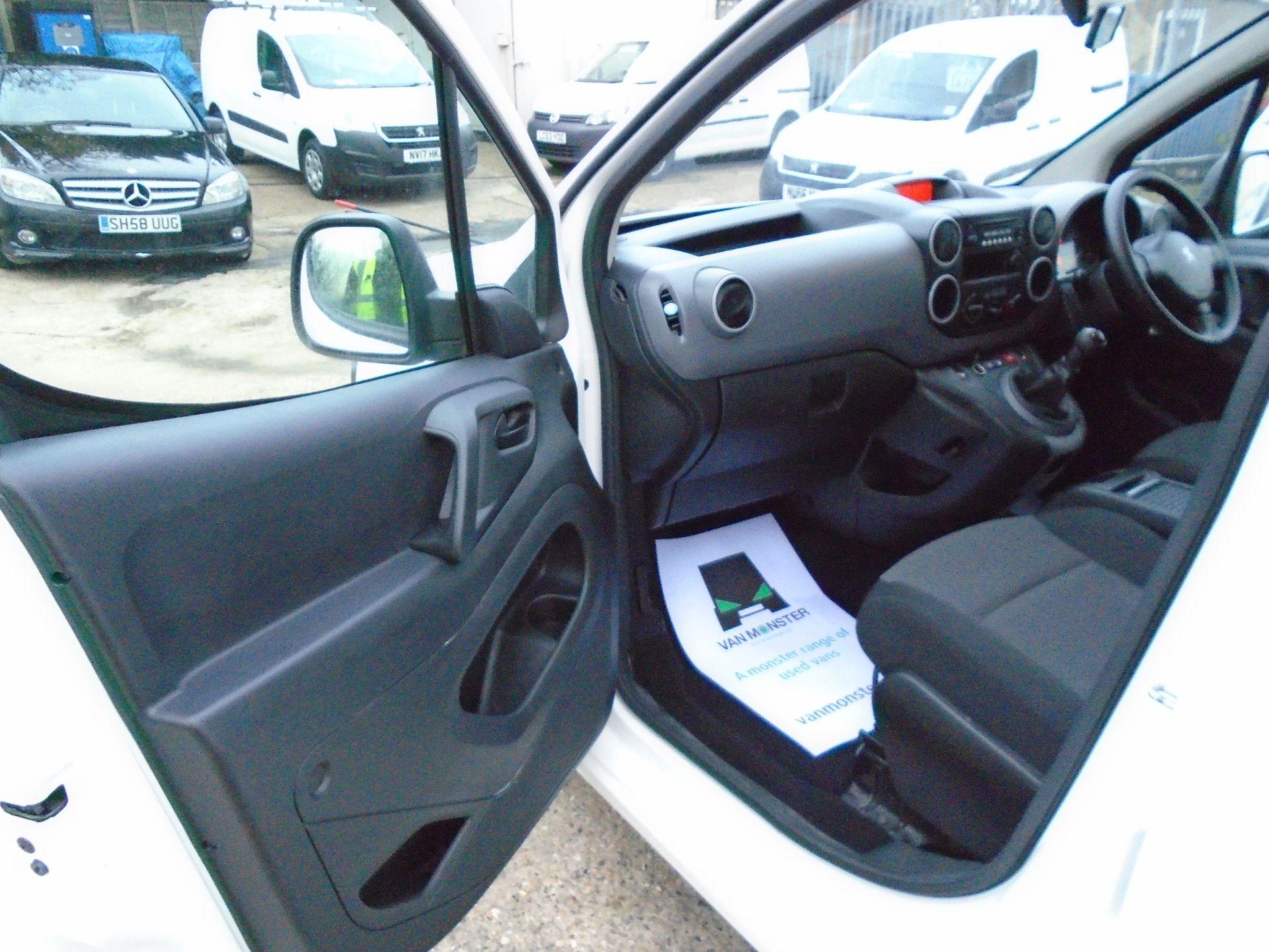 2017 Peugeot Partner 715 S 1.6 Bluehdi 100 Crew Van (NX17ZKL) Image 18