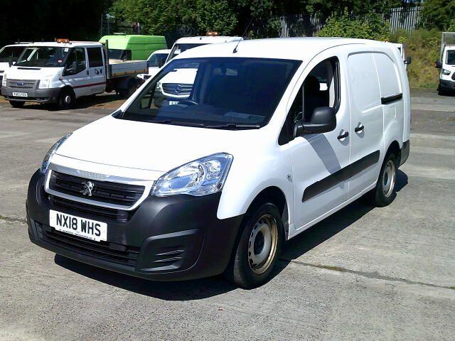 2018 Peugeot Partner 715 S 1.6 Bluehdi 100 L2 Crew Van (NX18WHS) Image 14