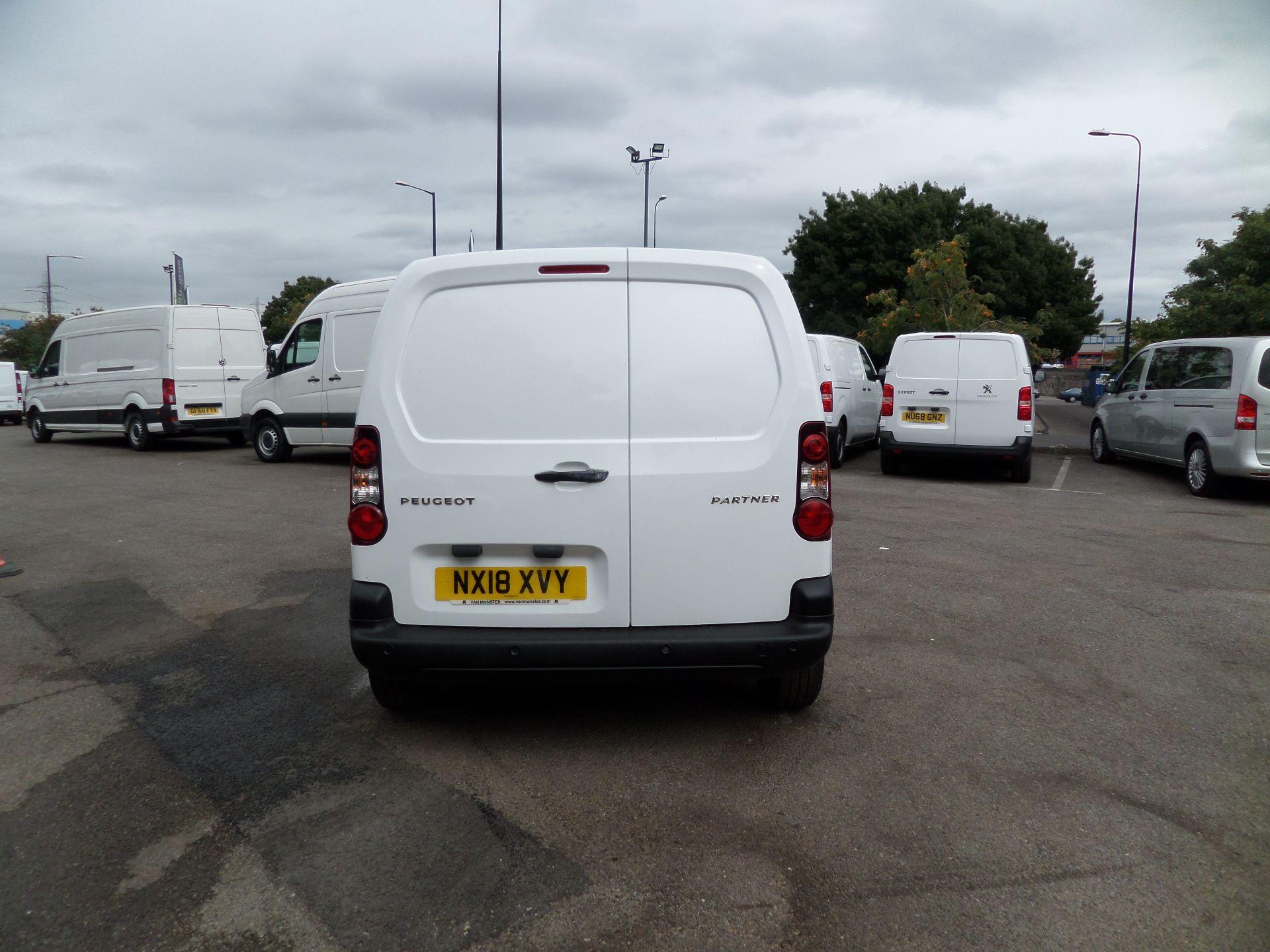 2018 Peugeot Partner 850 1.6 Bluehdi 100 Professional Van [Non Ss] Euuro 6 (NX18XVY) Image 3