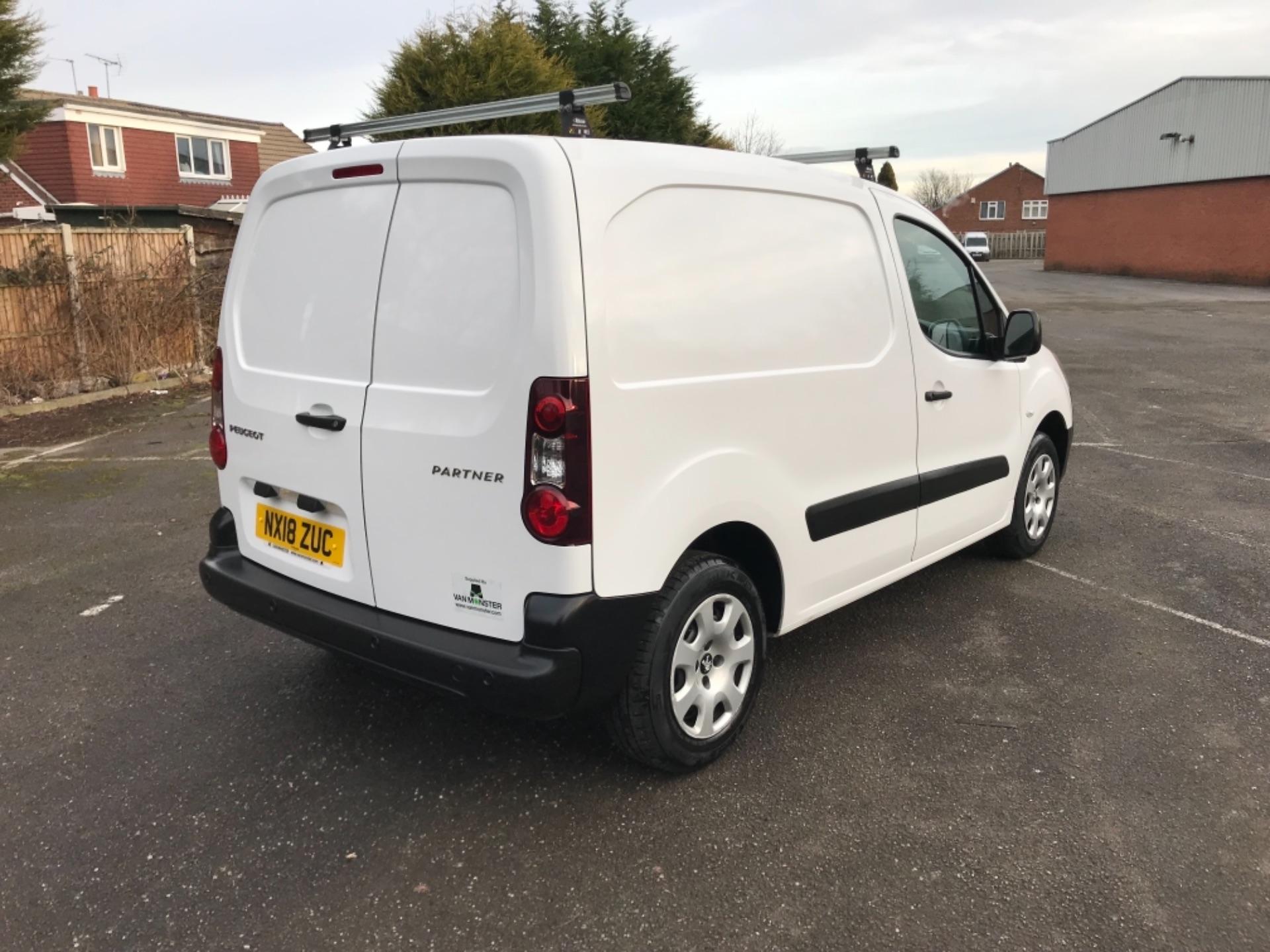 2018 Peugeot Partner 850 1.6 Bluehdi 100 Professional Van [Non Ss] (NX18ZUC) Image 7