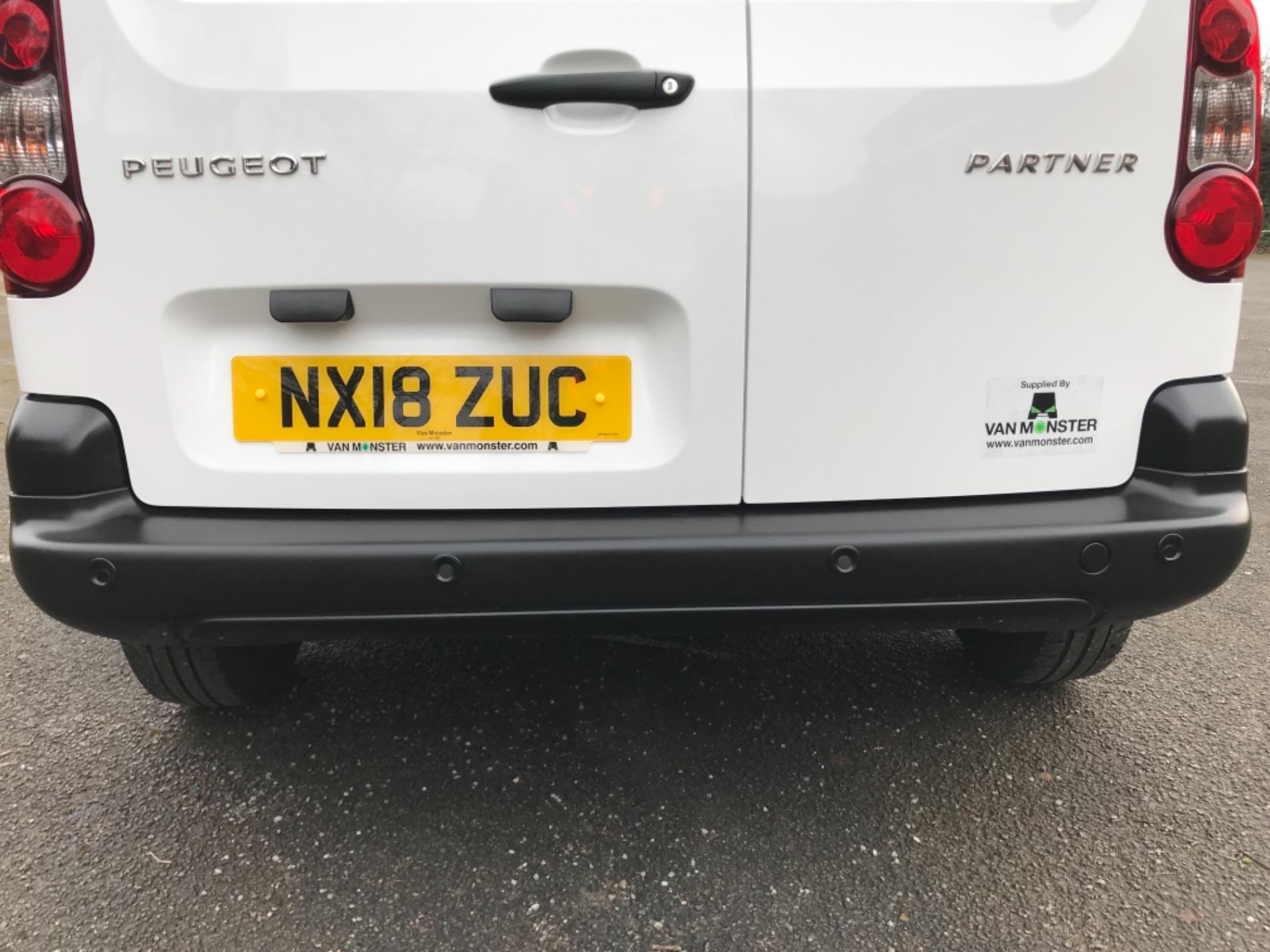 2018 Peugeot Partner 850 1.6 Bluehdi 100 Professional Van [Non Ss] (NX18ZUC) Image 36