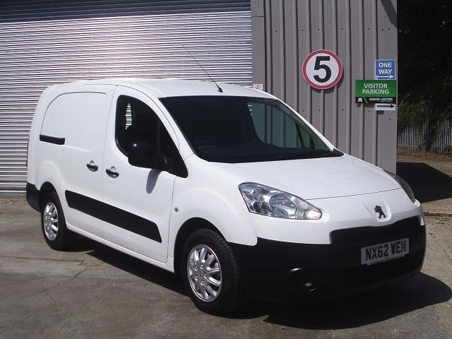 2012 Peugeot Partner  L2 716 1.6 92 CREW VAN EURO 5 (NX62WEH)