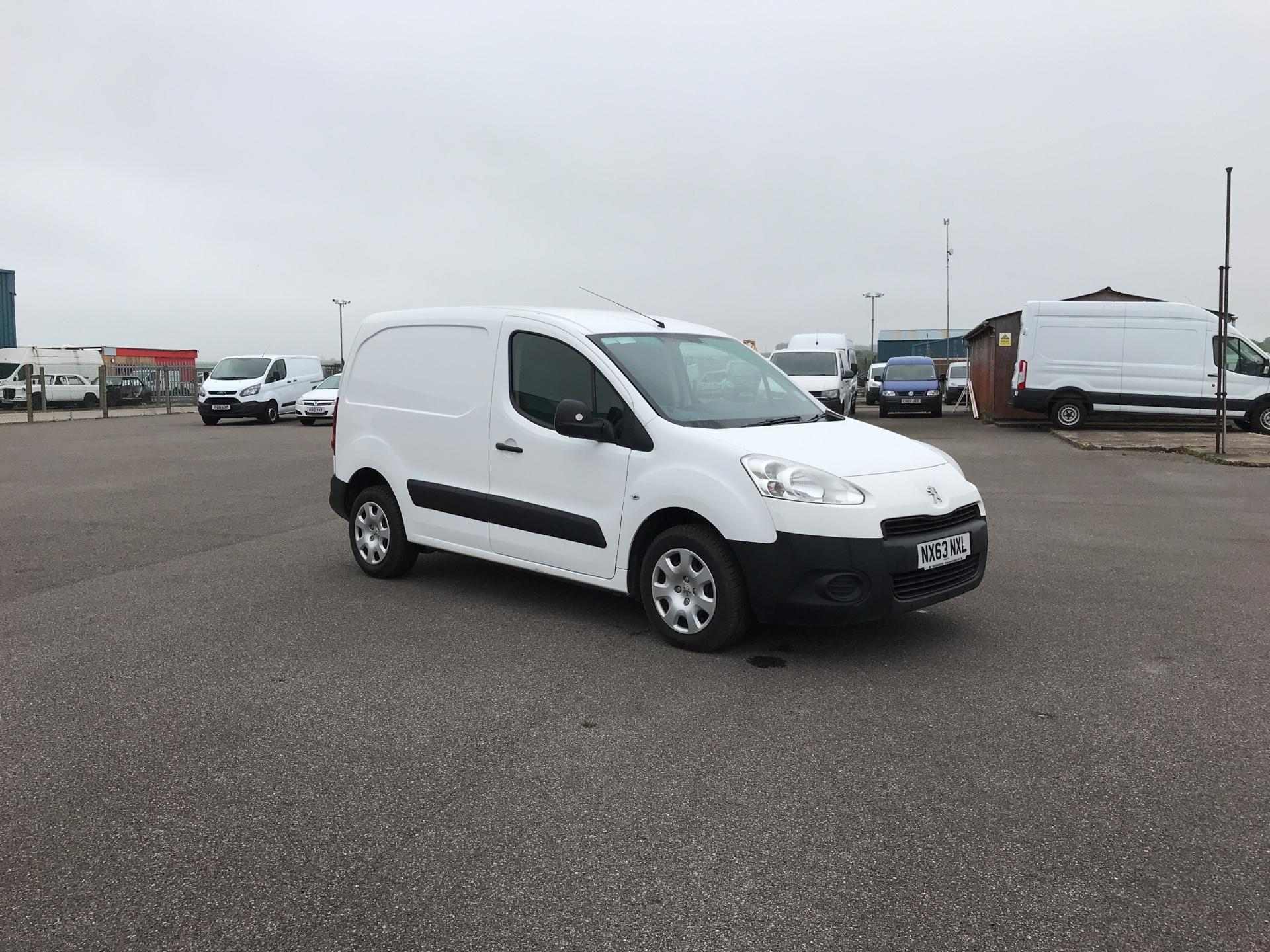 2013 Peugeot Partner L1 850 S 1.6 92PS (SLD) EURO 5 (NX63NXL)