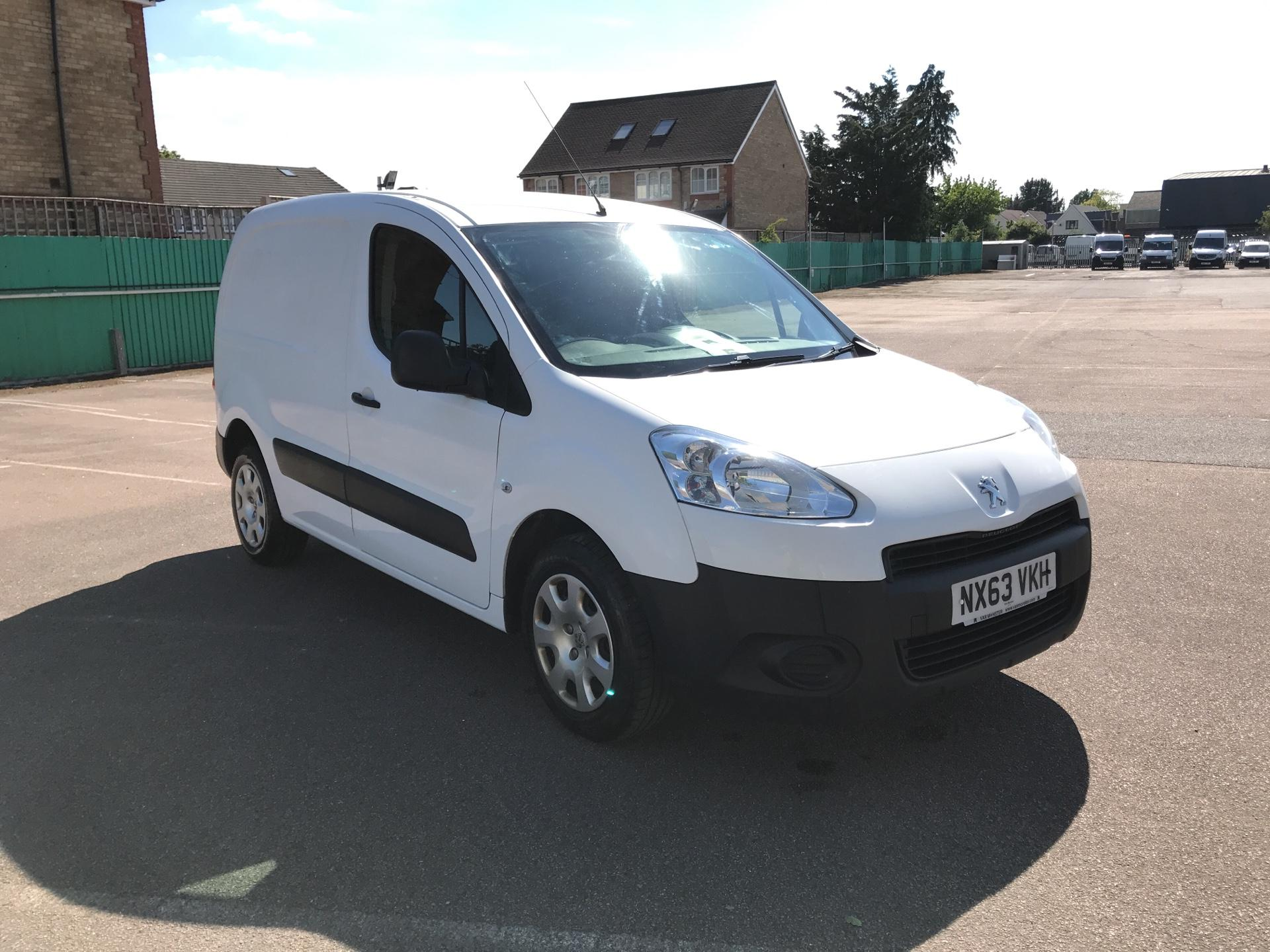 2013 Peugeot Partner  L1 850 1.6 92PS (SLD) EURO 5 *VALUE RANGE VEHICLE CONDITION REFLECTED IN PRICE* (NX63VKH)