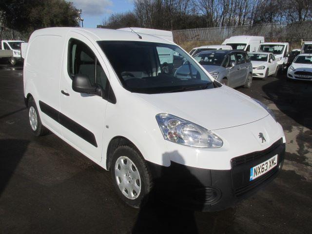 2013 Peugeot Partner L1 850 S 1.6 Hdi 92PS Van (NX63XML)