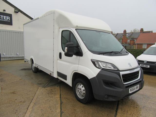2015 Peugeot Boxer  335 LUTON 130PS  LOW LOADER (NX64ANU)