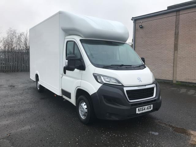 2014 Peugeot Boxer  335 13FT LUTON 130PS LOW LOADER  (NX64AOB)