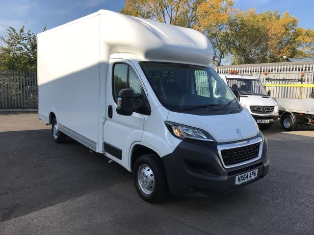 2014 Peugeot Boxer 335 13FT LUTON 130PS LOW LOADER (NX64APU)