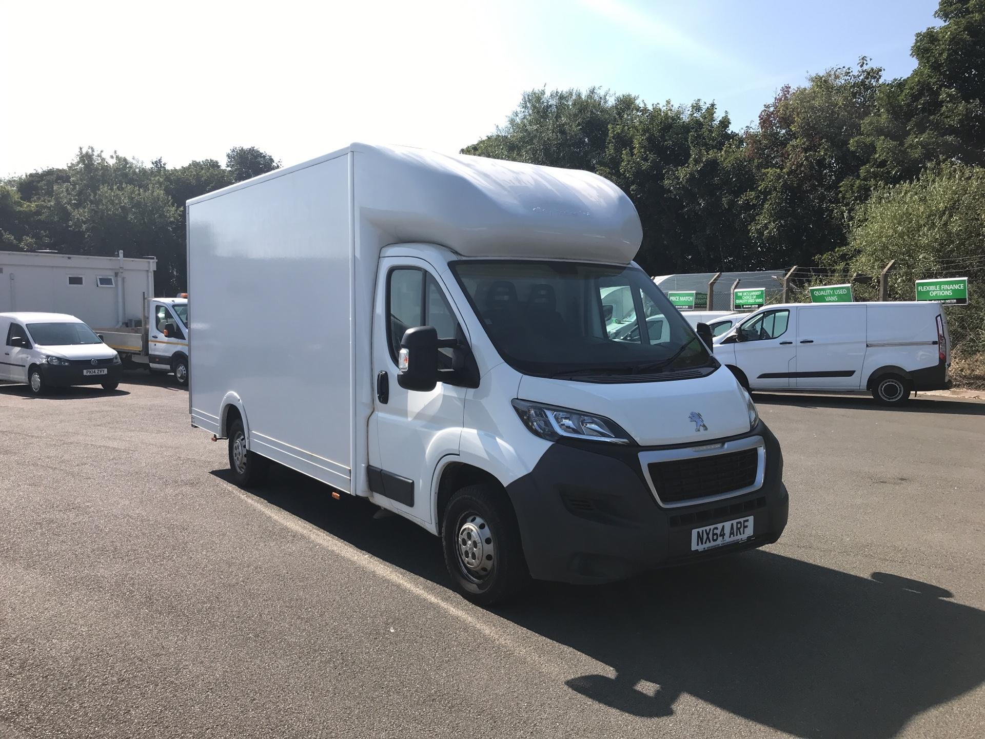 2014 Peugeot Boxer 2.2 HDI FLOOR CAB 130PS *VALUE RANGE VEHICLE - CONDITION REFLECTED IN PRICE*  (NX64ARF)