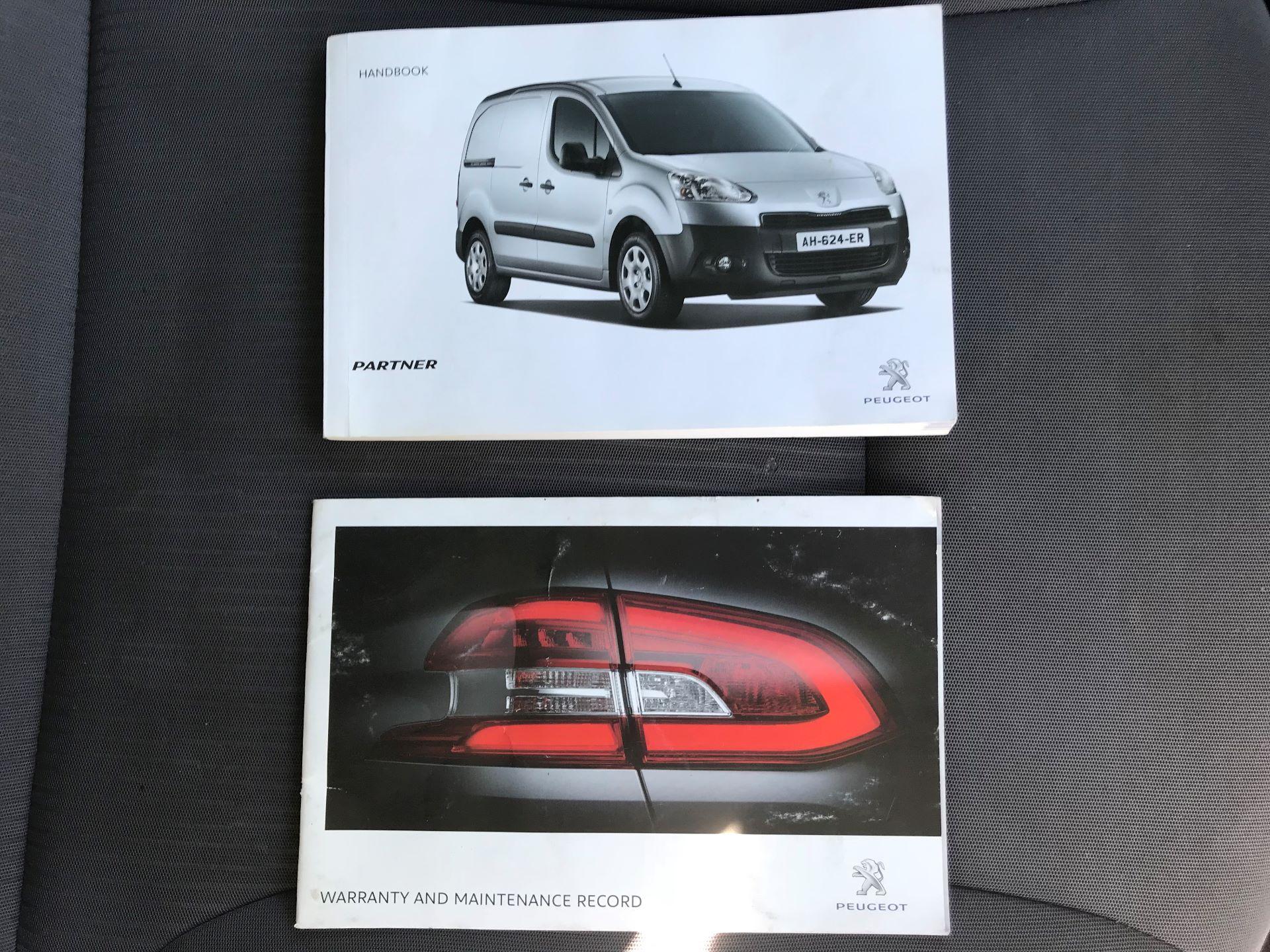 2014 Peugeot Partner L1 850 S 1.6 92PS (SLD) EURO 5 (NX64NZP) Image 27