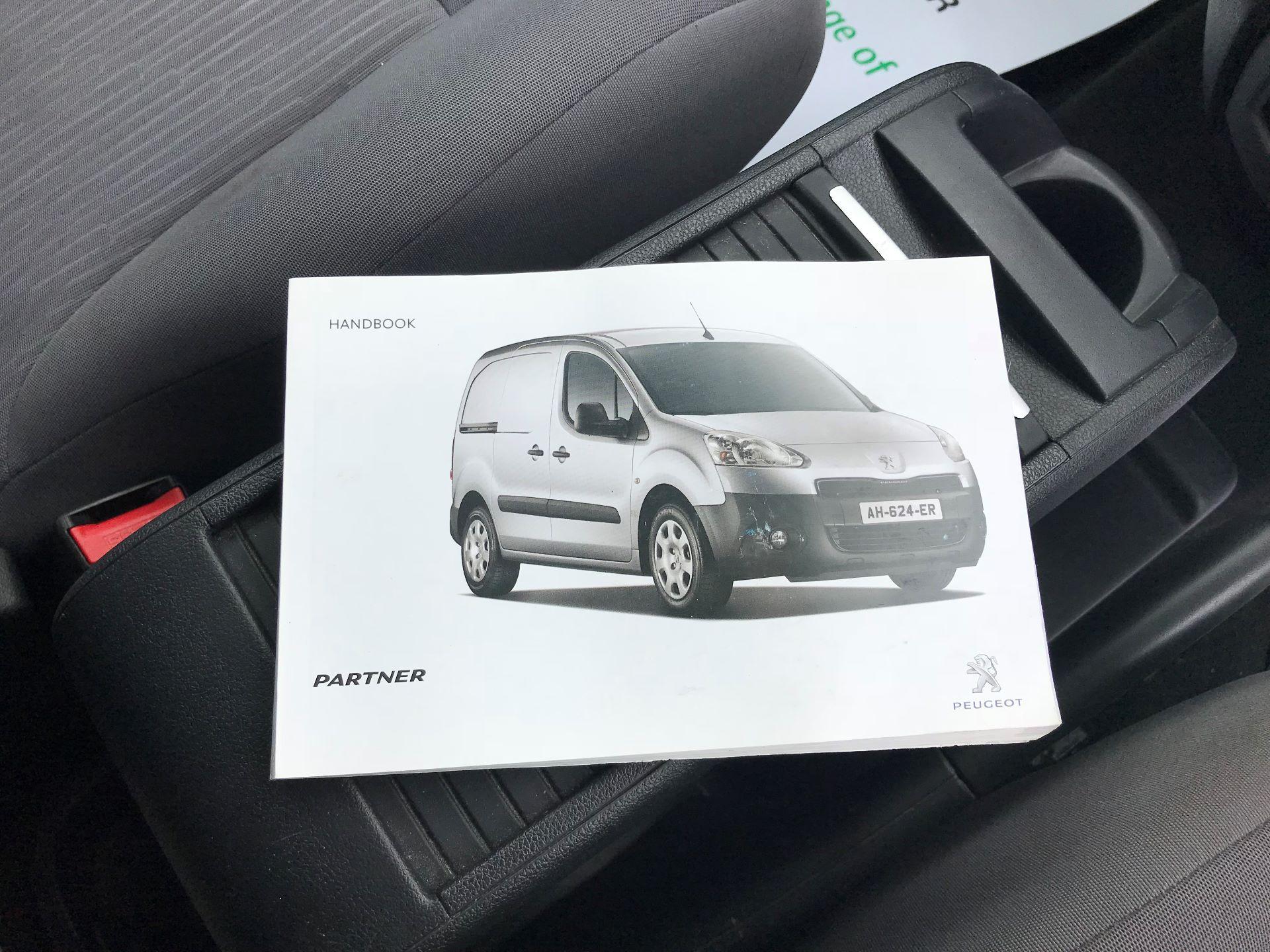 2014 Peugeot Partner L1 850 S 1.6 92PS (SLD) EURO 5 (NX64NZW) Image 25