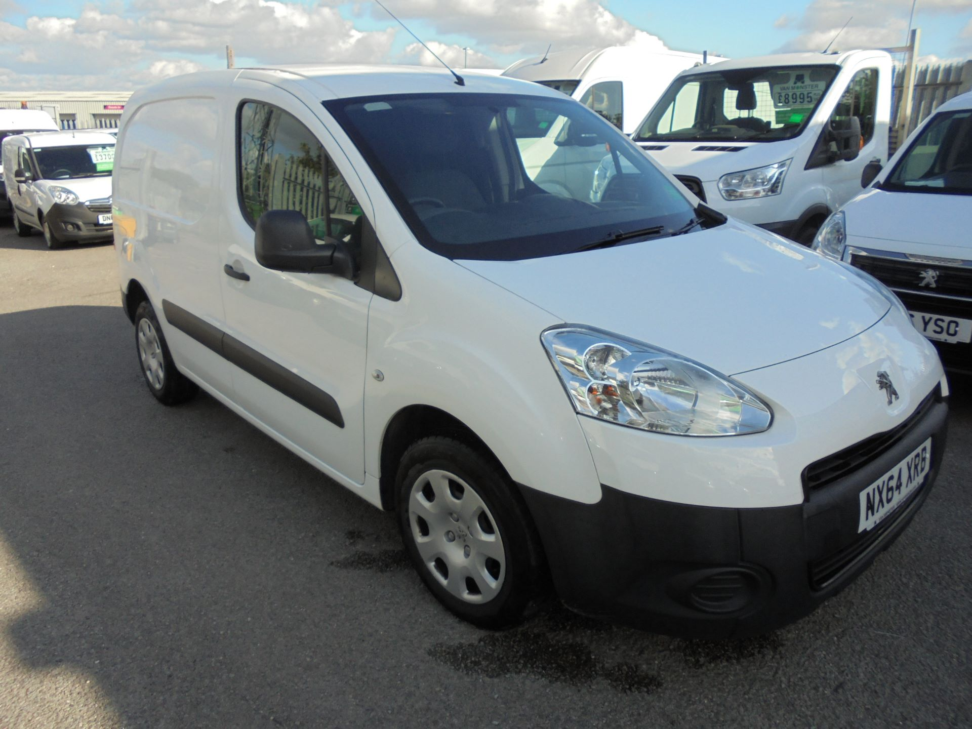 2014 Peugeot Partner  L1 850 S 1.6 92PS EURO 5 *SPEED LIMITED TO 70MPH* (NX64XRB)