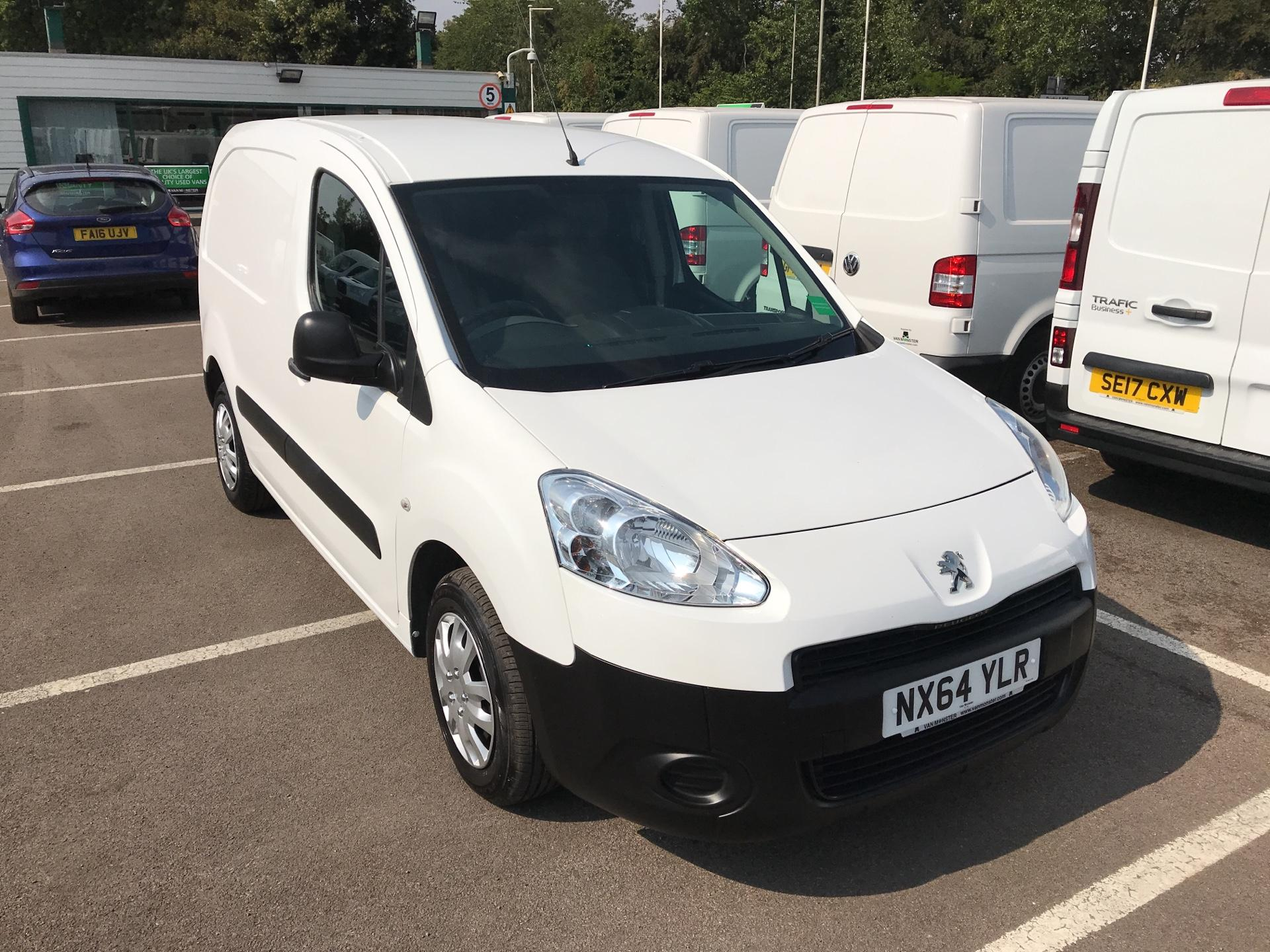 2014 Peugeot Partner L1 850 S 1.6 Hdi 92 Van [Sld] (NX64YLR)