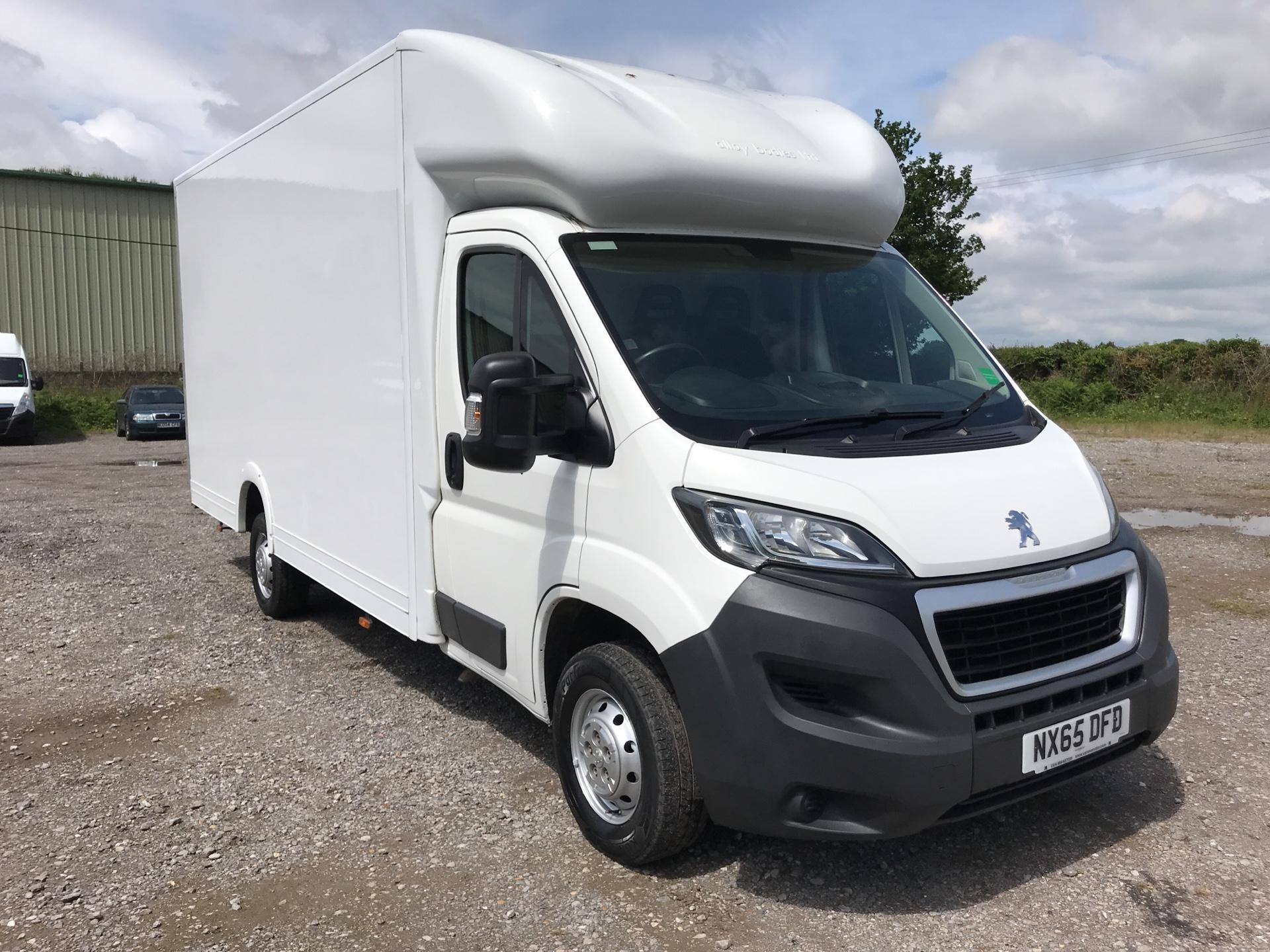 2016 Peugeot Boxer 335 13FT LUTON 130PS LOW LOADER EURO 5 (NX65DFD)