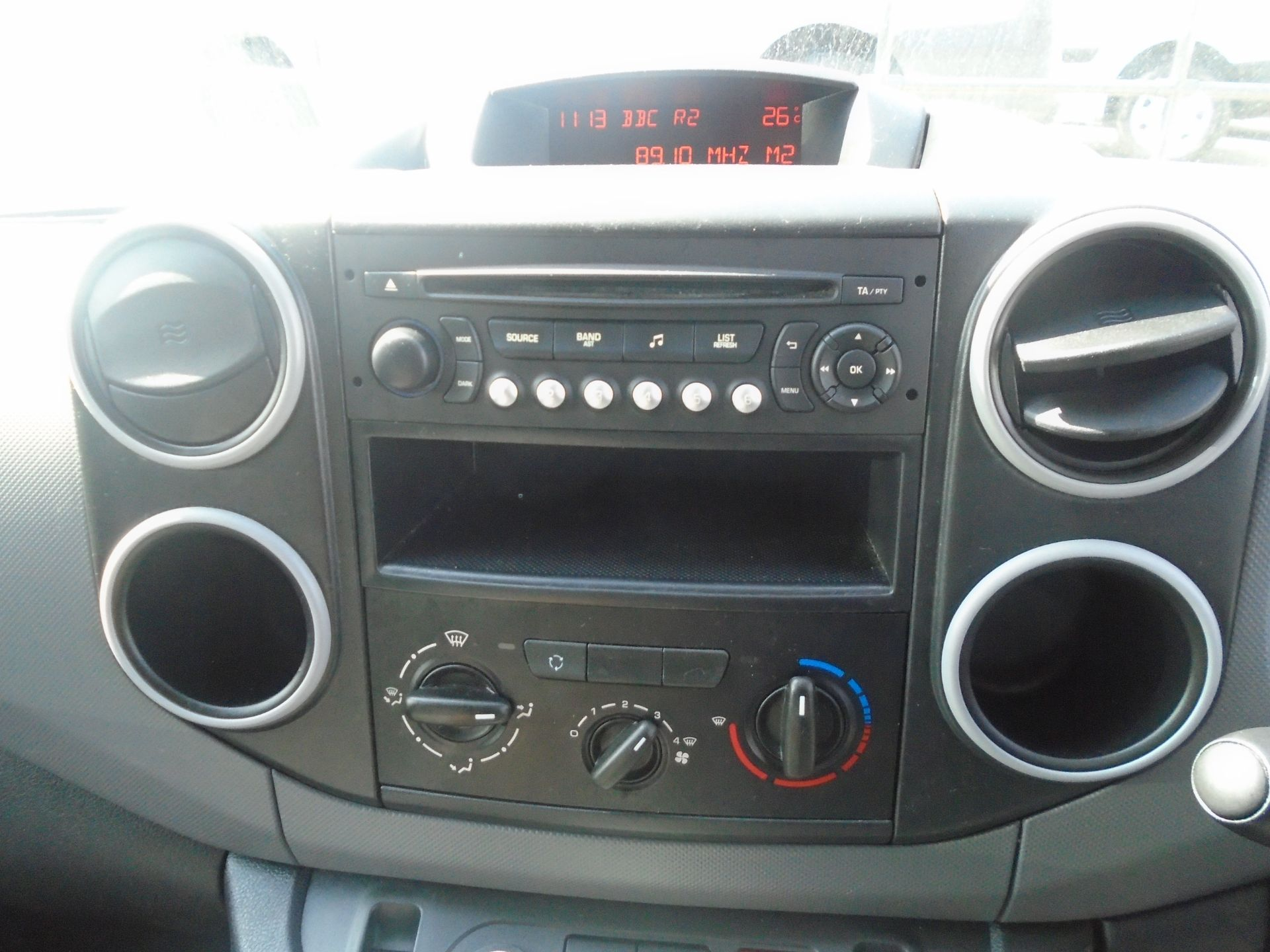 2015 Peugeot Partner 750 S 1.6 Hdi 92 Van (NX65VBJ) Image 20