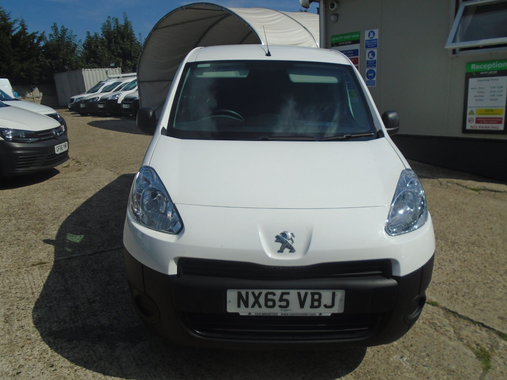 2015 Peugeot Partner 750 S 1.6 Hdi 92 Van (NX65VBJ) Image 2