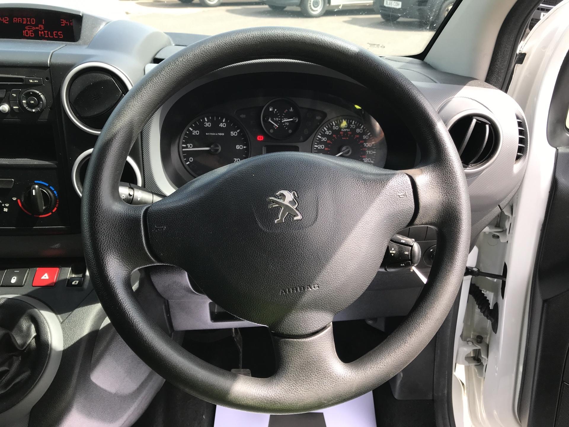 2015 Peugeot Partner L2 750 S 1.6 92PS EURO 5 (NX65VBU) Image 12
