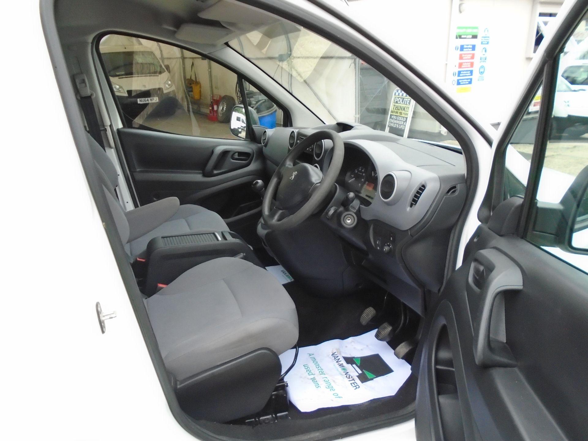 2015 Peugeot Partner L1 850 S 1.6 92PS (SLD) EURO 5 (NX65WZV) Image 15