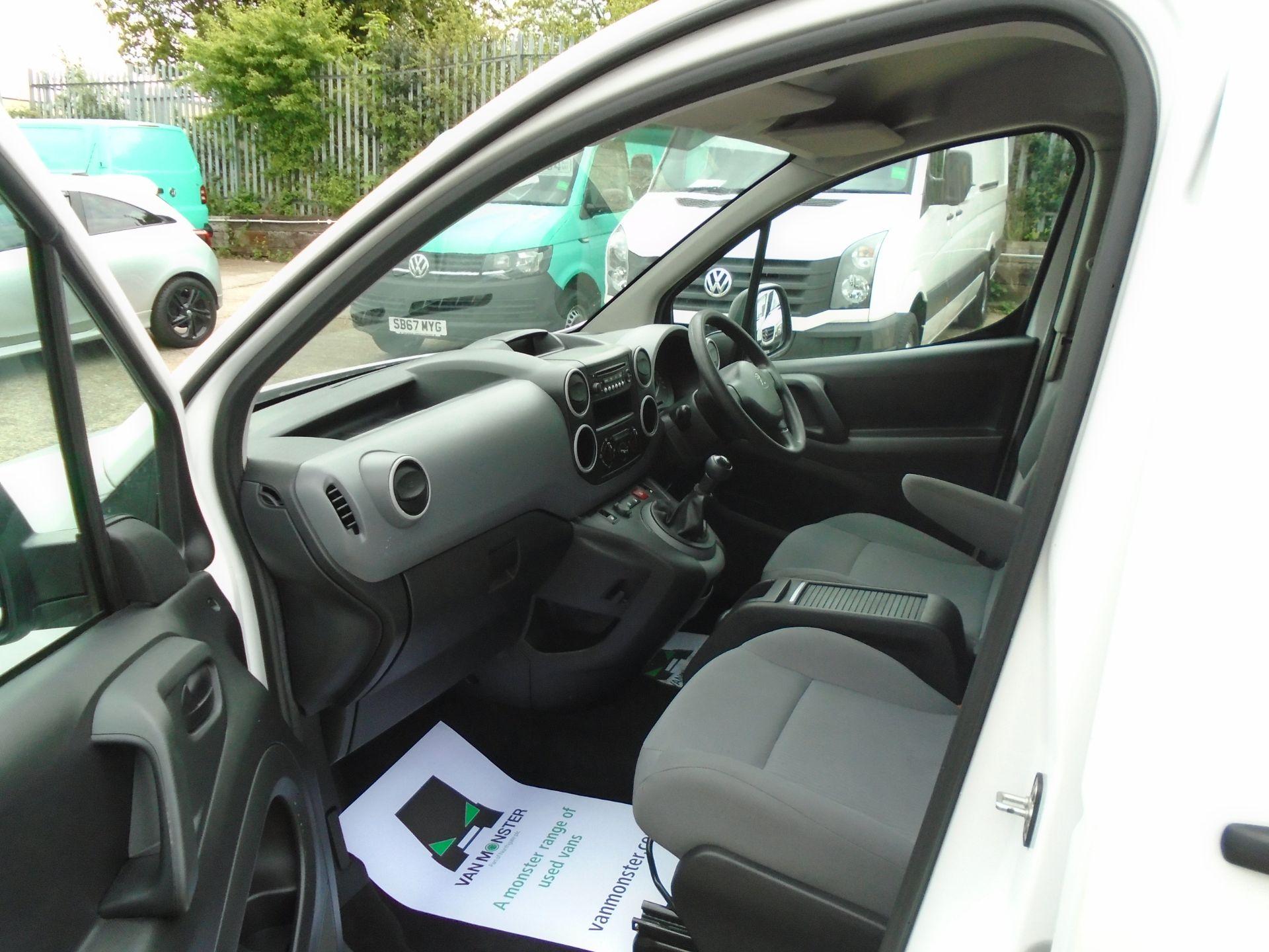 2015 Peugeot Partner L1 850 S 1.6 92PS (SLD) EURO 5 (NX65WZV) Image 13