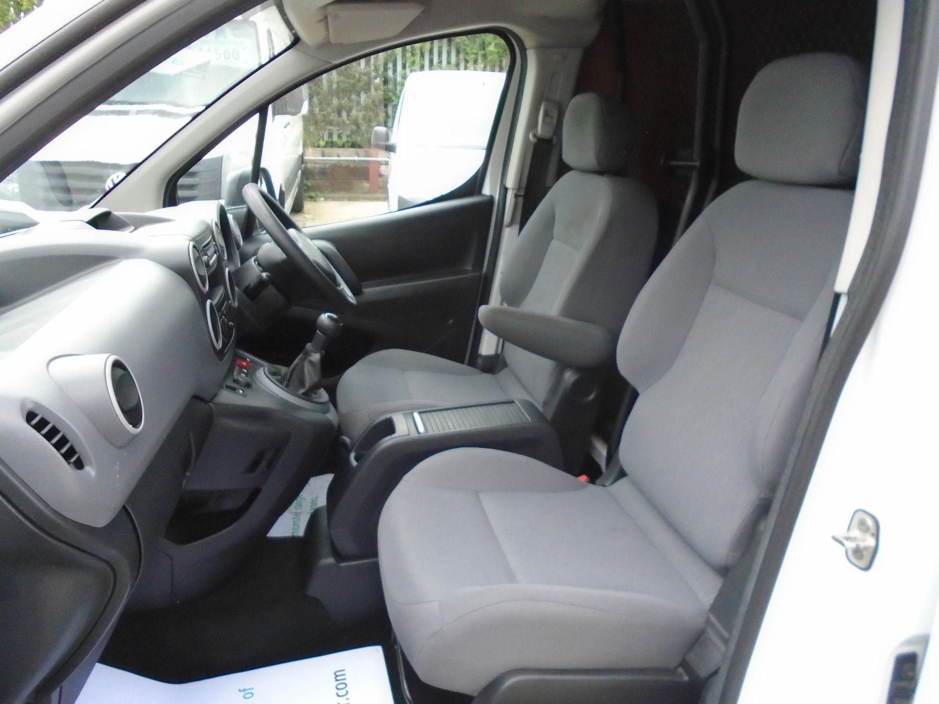 2015 Peugeot Partner L1 850 S 1.6 92PS (SLD) EURO 5 (NX65WZV) Image 14