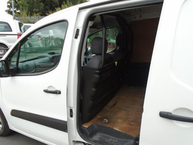 2015 Peugeot Partner 850 S 1.6 Hdi 92 Van [Sld] (NX65WZW) Image 12