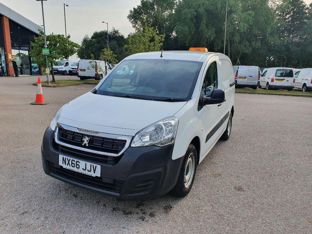 2016 Peugeot Partner 850 S 1.6 Hdi 92 Van [Sld] (NX66JJV) Image 3