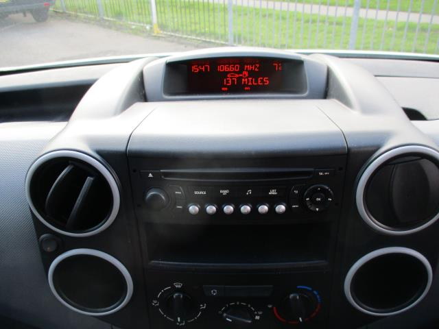 2016 Peugeot Partner 850 S 1.6 Hdi 92 Van [Sld] (NX66JKK) Image 14