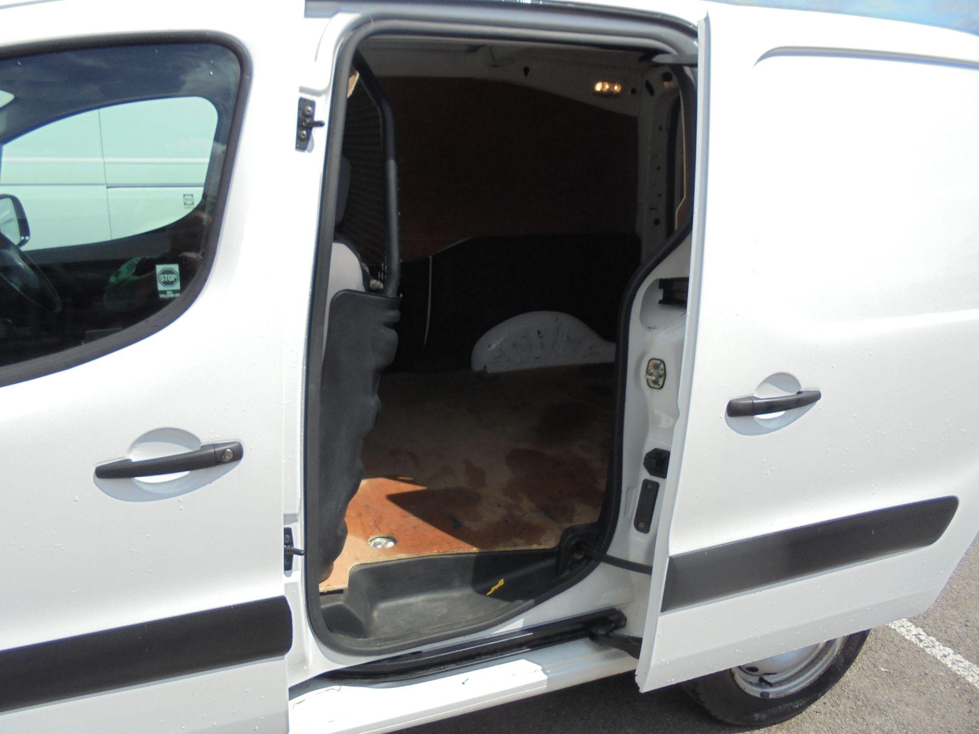 2016 Peugeot Partner 850 S 1.6 Hdi 92 Van [Sld] (NX66JKU) Image 8