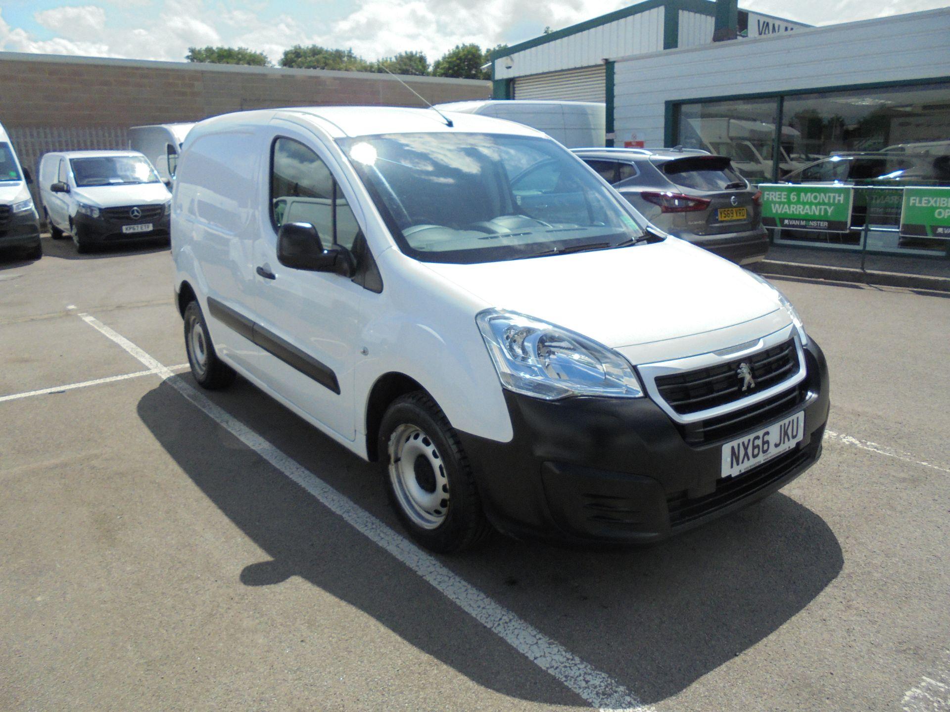 2016 Peugeot Partner 850 S 1.6 Hdi 92 Van [Sld] (NX66JKU)