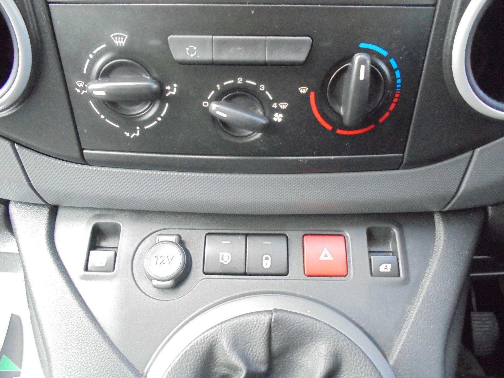 2016 Peugeot Partner 850 S 1.6 Hdi 92 Van [Sld] (NX66JKU) Image 21