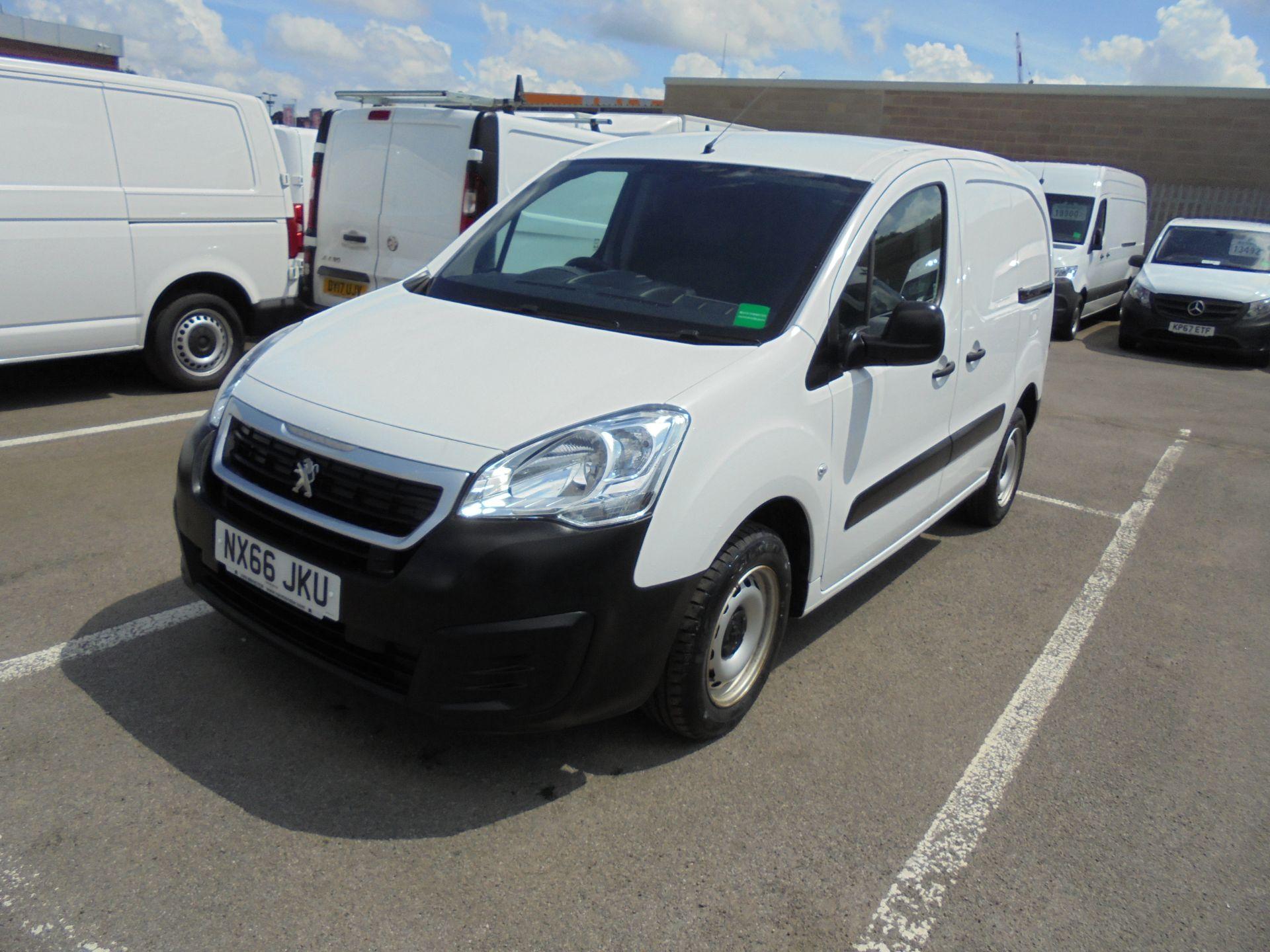 2016 Peugeot Partner 850 S 1.6 Hdi 92 Van [Sld] (NX66JKU) Image 9