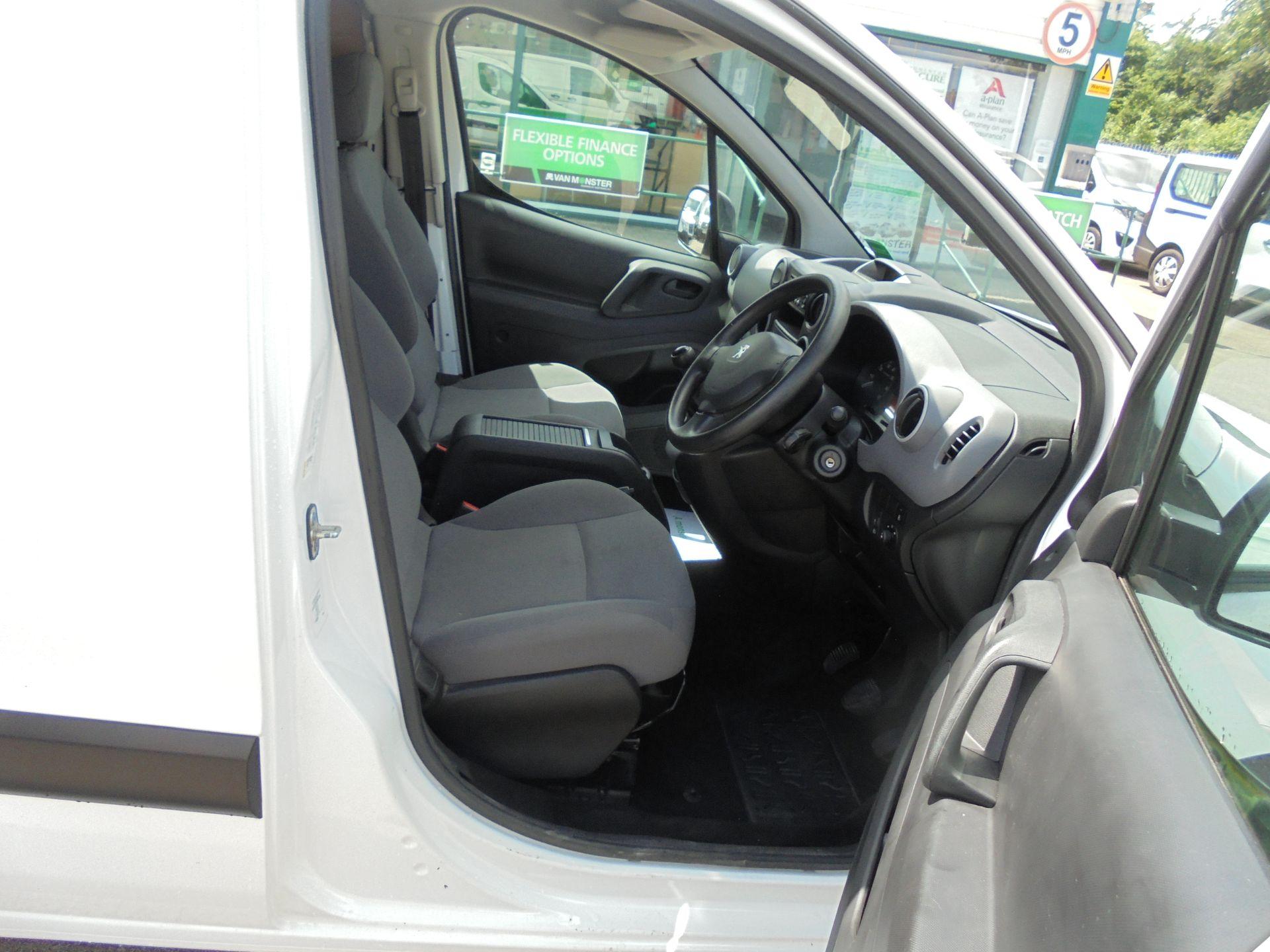 2016 Peugeot Partner 850 S 1.6 Hdi 92 Van [Sld] (NX66JKU) Image 11