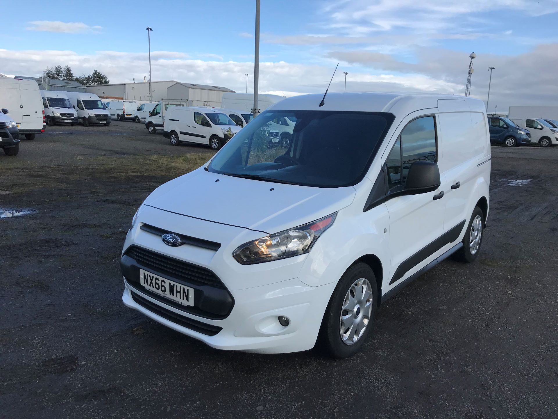 2016 Ford Transit Connect 1.5 Tdci 75Ps Trend Van (NX66WHN) Image 3