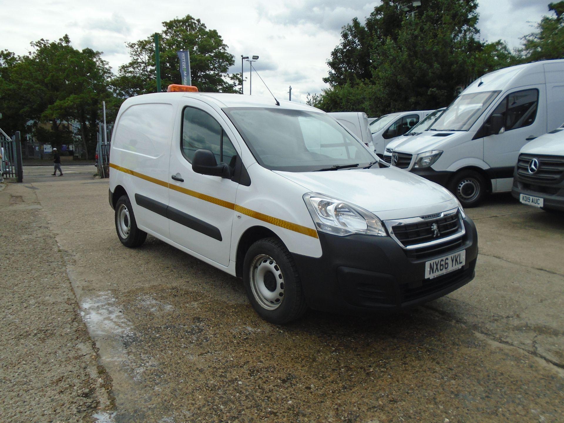 2016 Peugeot Partner 850 S 1.6 Hdi 92 Van [Sld] (NX66YKL)