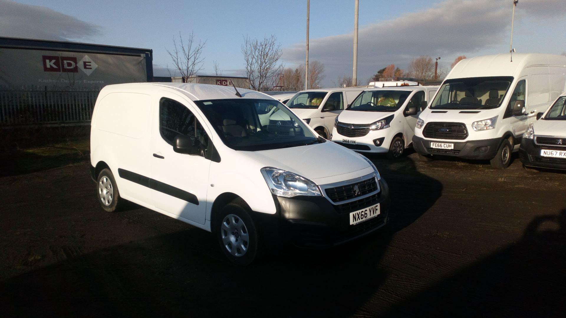 2016 Peugeot Partner 850 1.6 Bluehdi 100 Professional Van [Non Ss] (NX66YVF)