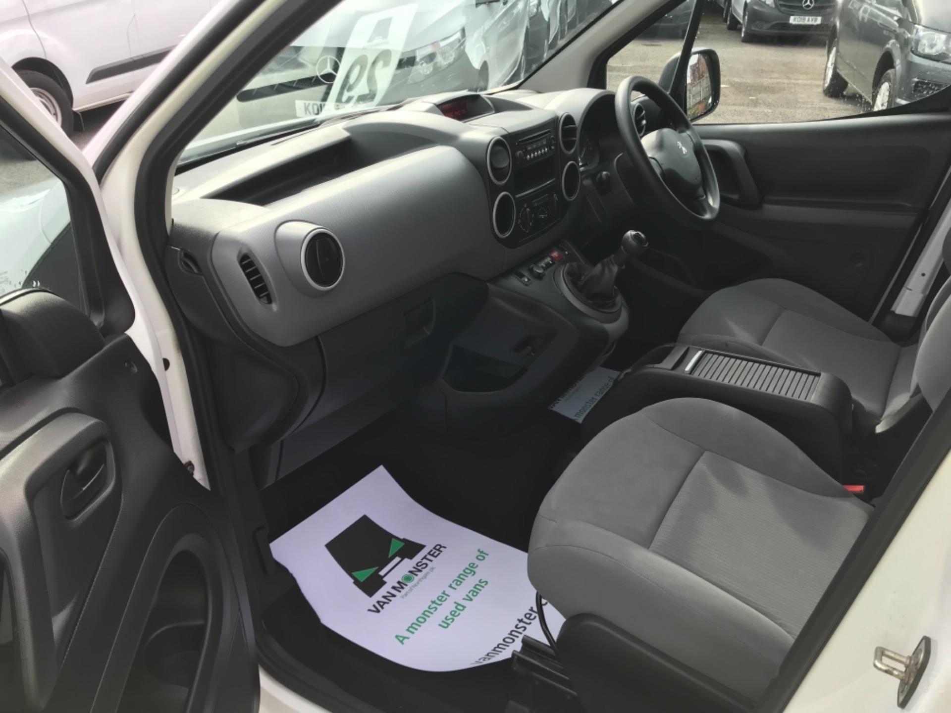 2016 Peugeot Partner 850 S 1.6 Hdi 92 Van [Sld] Euro 5 (NX66ZTP) Image 15