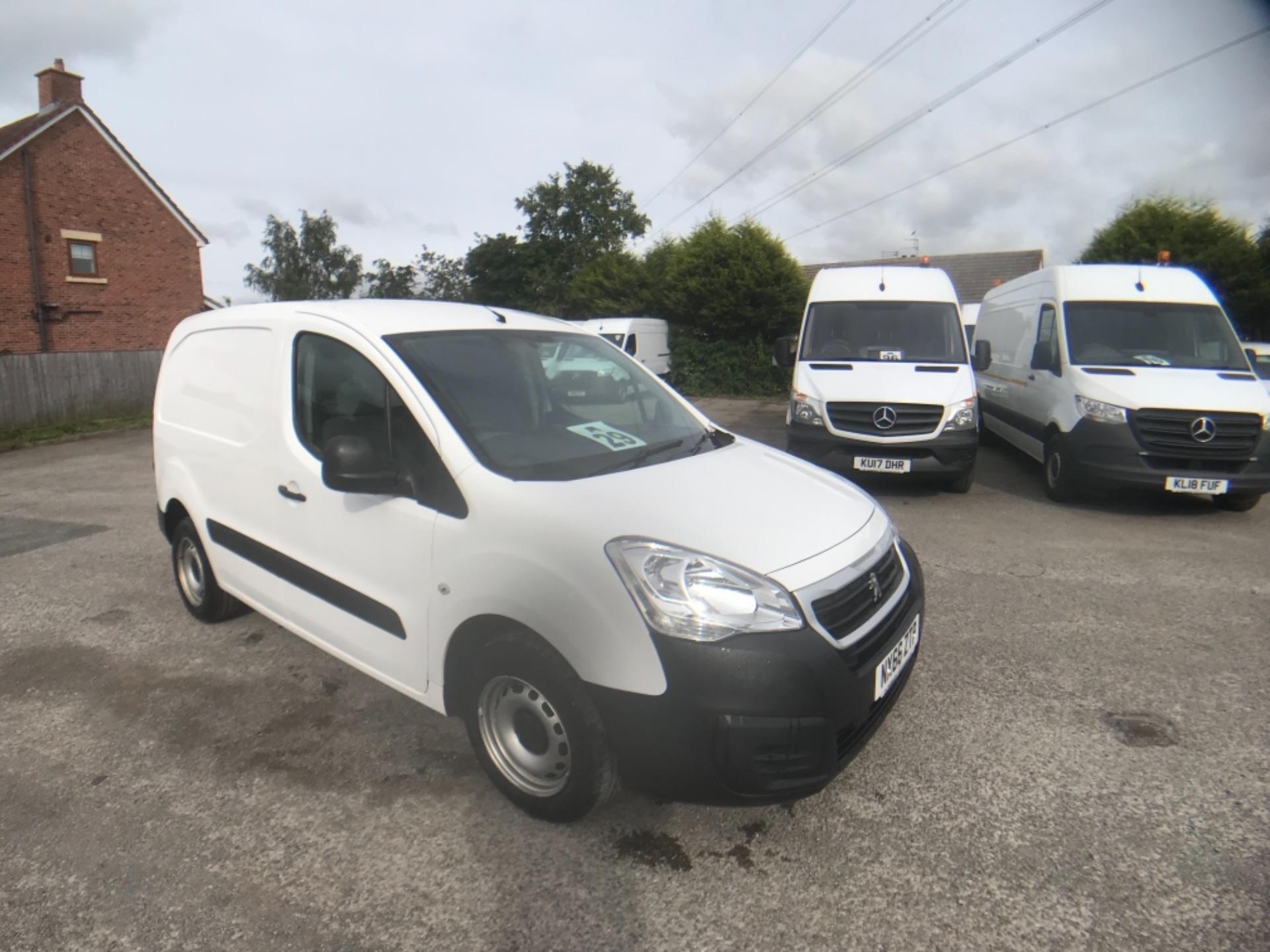 2016 Peugeot Partner 850 S 1.6 Hdi 92 Van [Sld] Euro 5 (NX66ZTP)