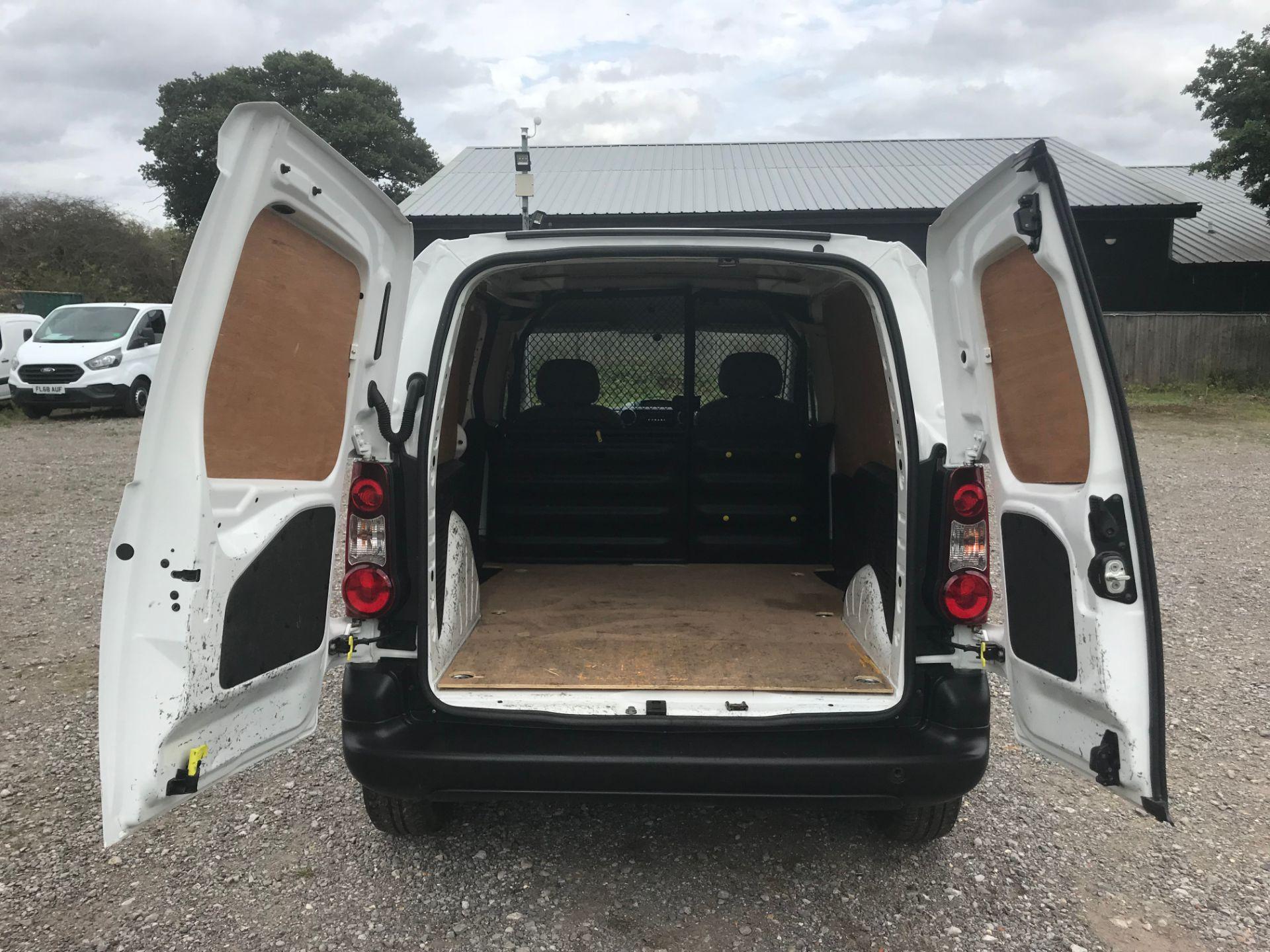 2016 Peugeot Partner 850 S 1.6 Hdi 92 Van [Sld] (NX66ZVY) Image 11