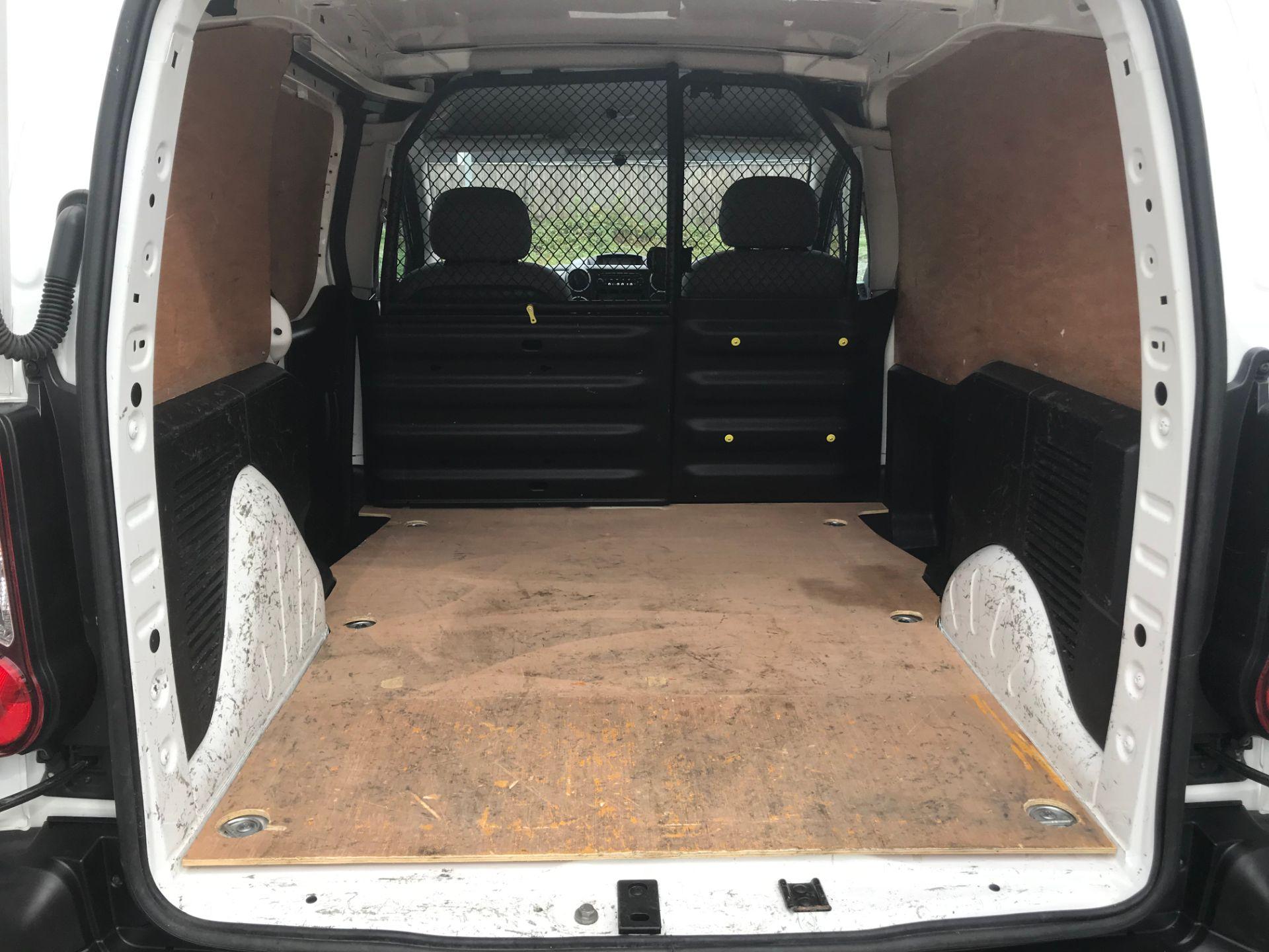2016 Peugeot Partner 850 S 1.6 Hdi 92 Van [Sld] (NX66ZVY) Image 12