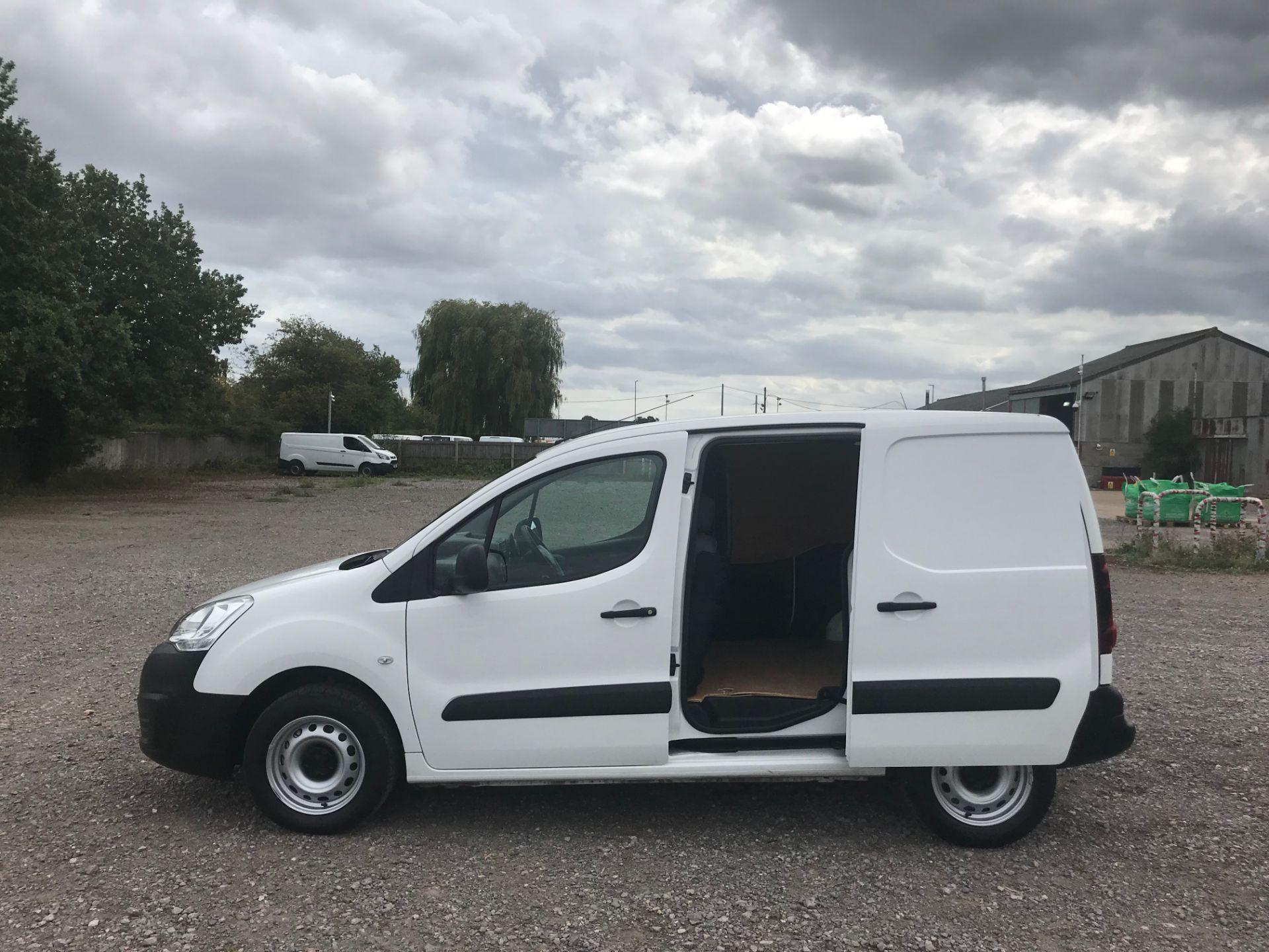 2016 Peugeot Partner 850 S 1.6 Hdi 92 Van [Sld] (NX66ZVY) Image 9