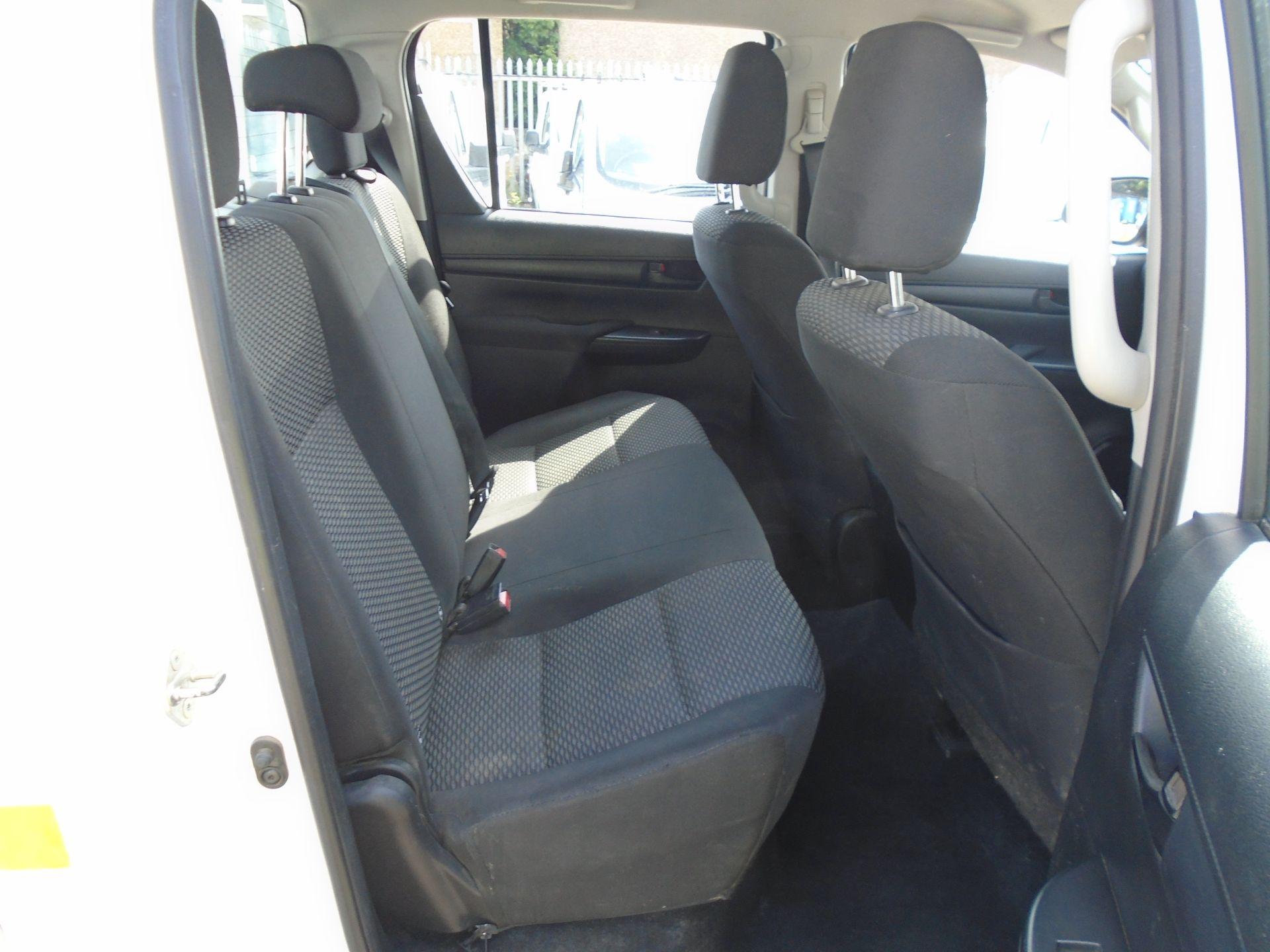 2017 Toyota Hilux Active D/Cab Pick Up 2.5 D-4D 4Wd 144 (NX67PGE) Image 18